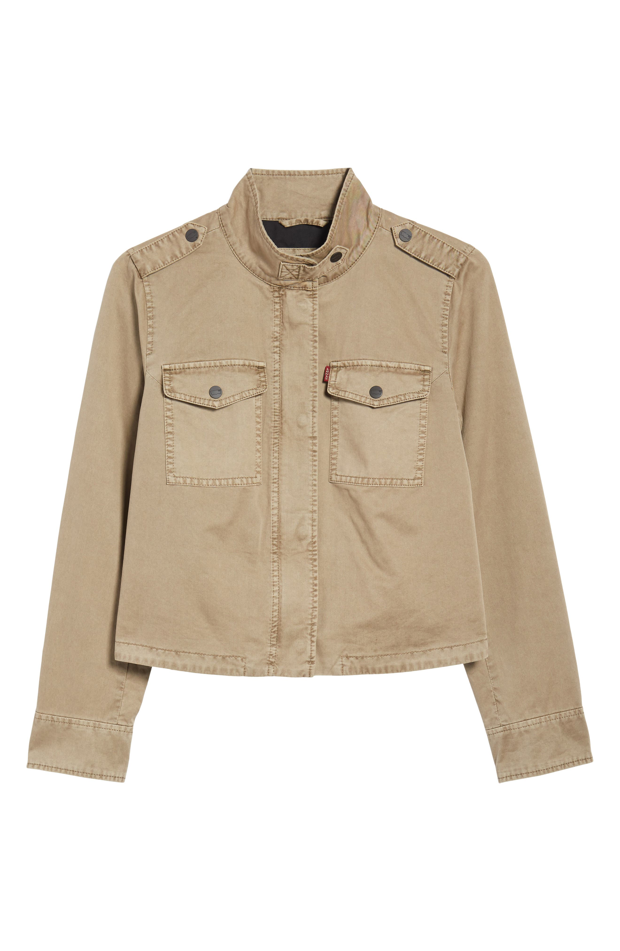 Crop Military Jacket,                             Alternate thumbnail 23, color,