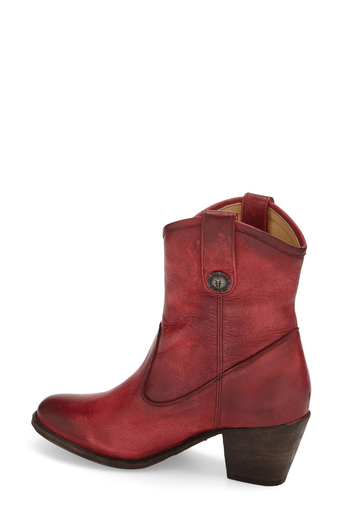 'Jackie Button' Short Bootie,                             Alternate thumbnail 2, color,                             930