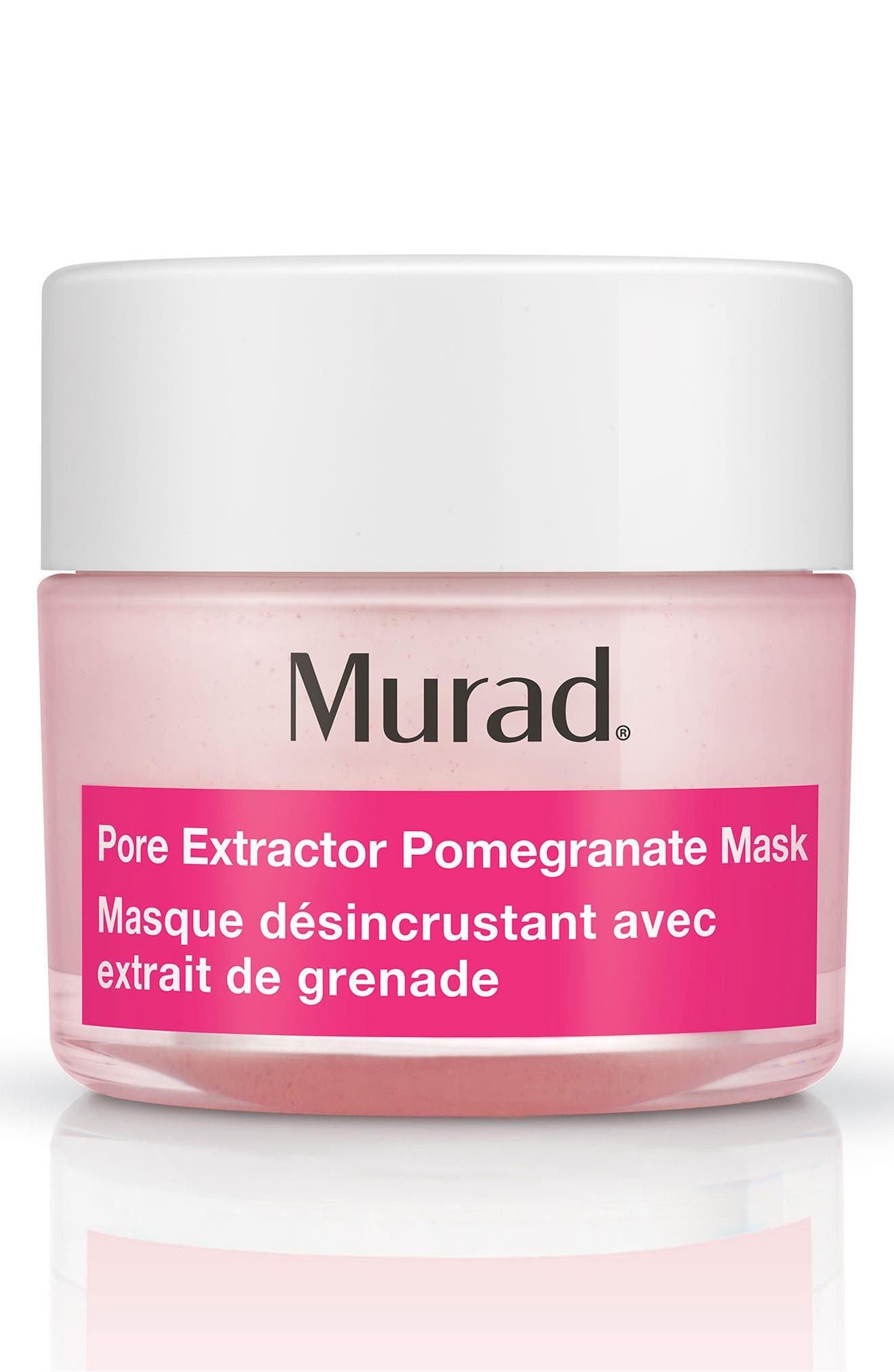 Pore Extractor Pomegranate Mask,                             Main thumbnail 1, color,                             000