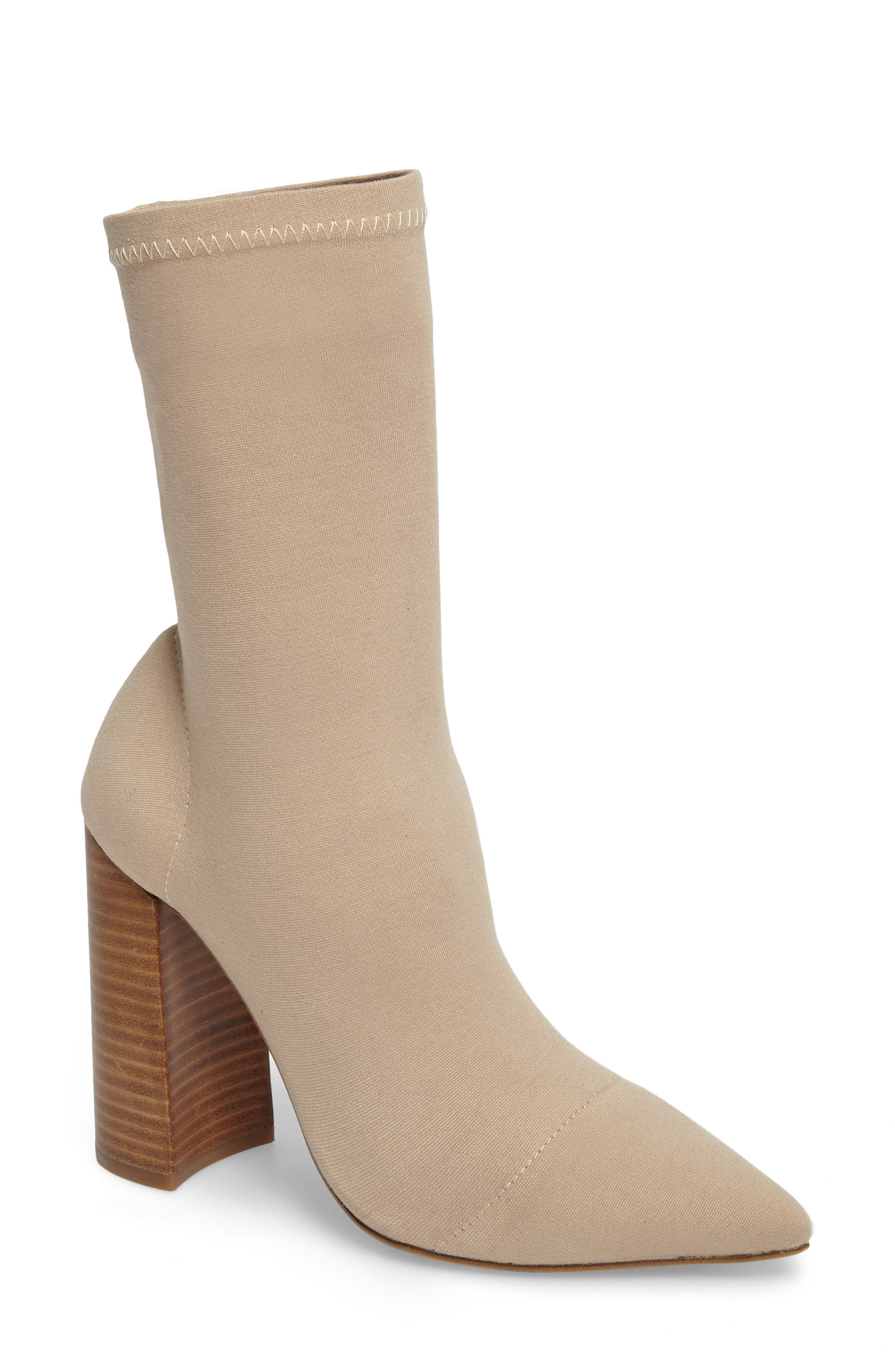 Diddy Velvet Bootie,                             Main thumbnail 1, color,                             270