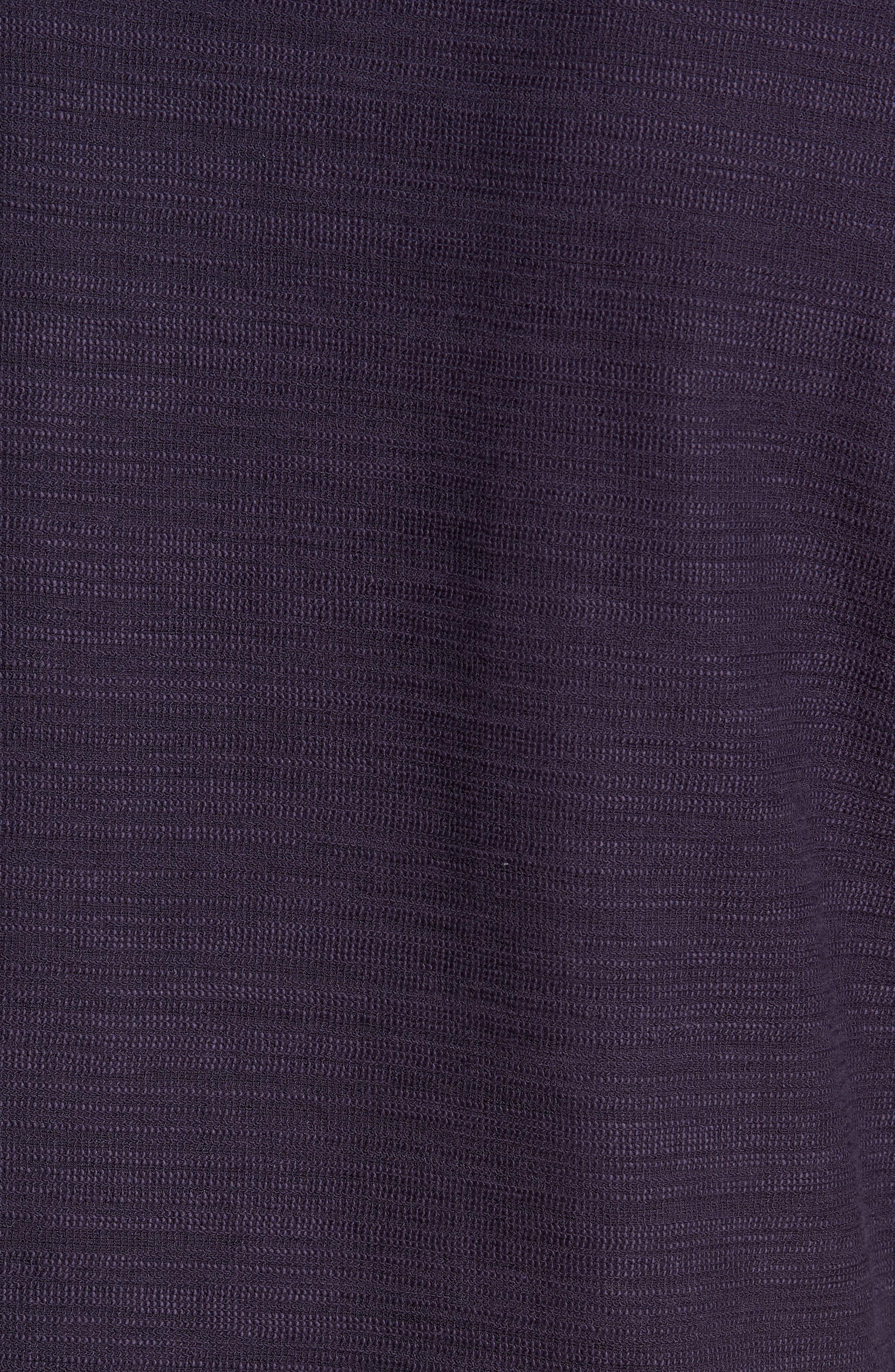 250 Loft Slubbed Crewneck Sweater,                             Alternate thumbnail 5, color,                             NAVY