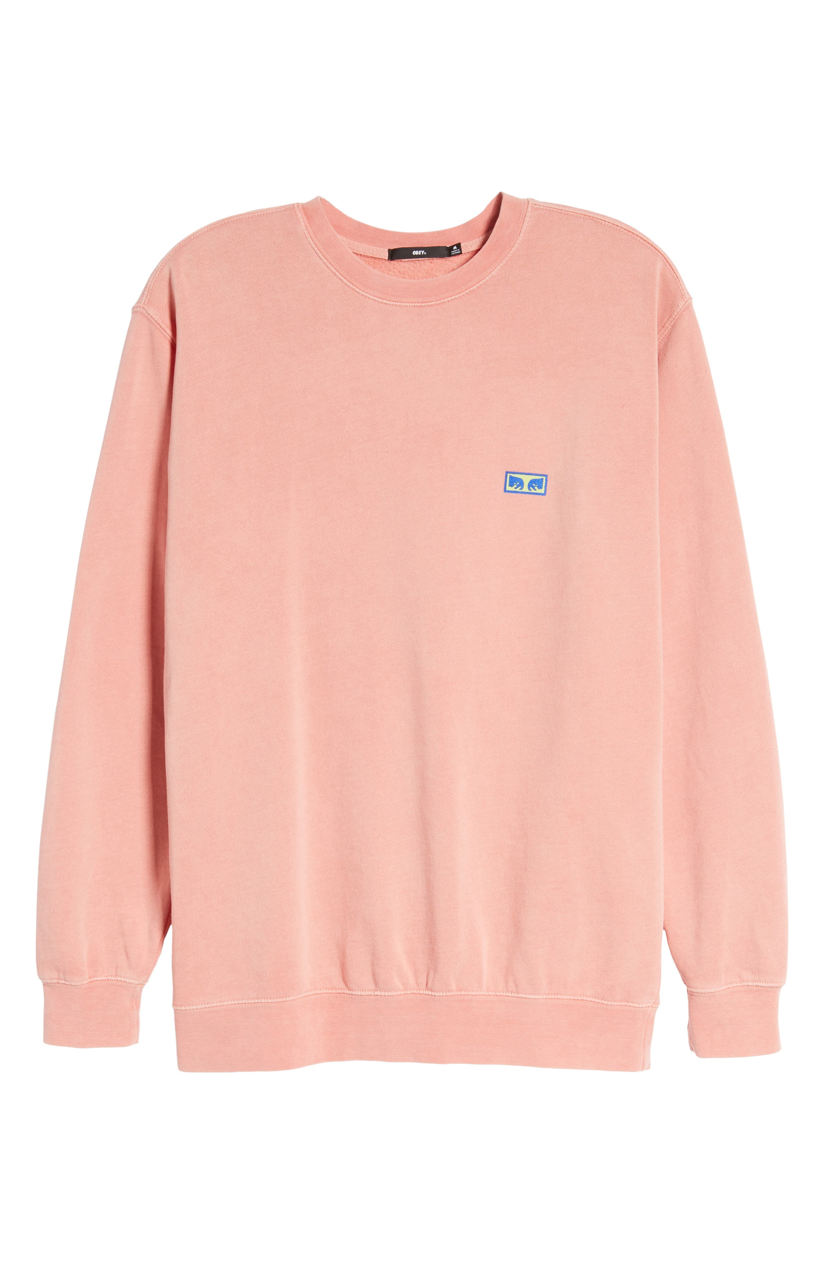 Flashback Pigment Dyed Sweatshirt,                             Alternate thumbnail 6, color,
