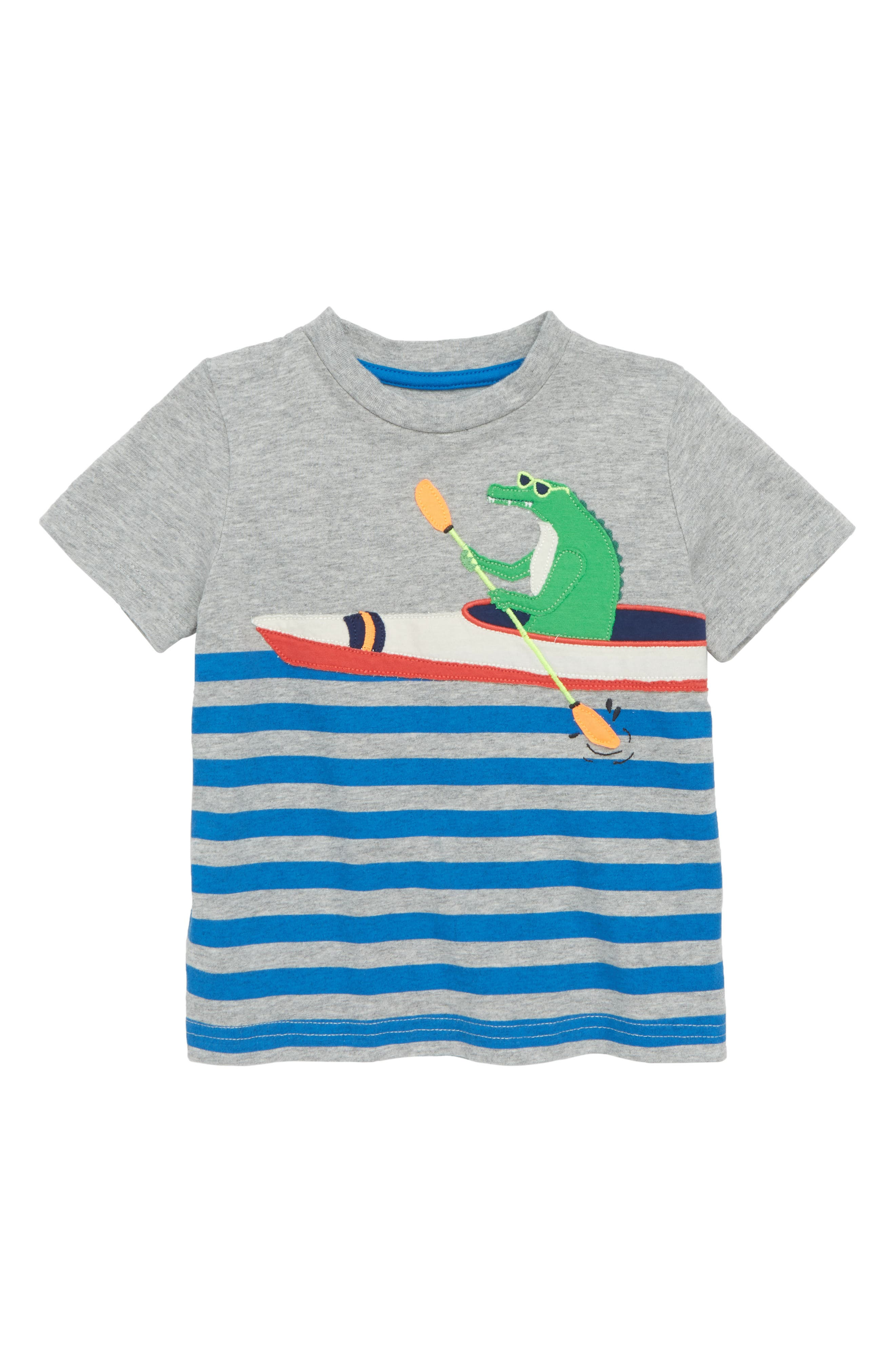 Paddling Pal Appliqué T-Shirt,                             Main thumbnail 1, color,                             034