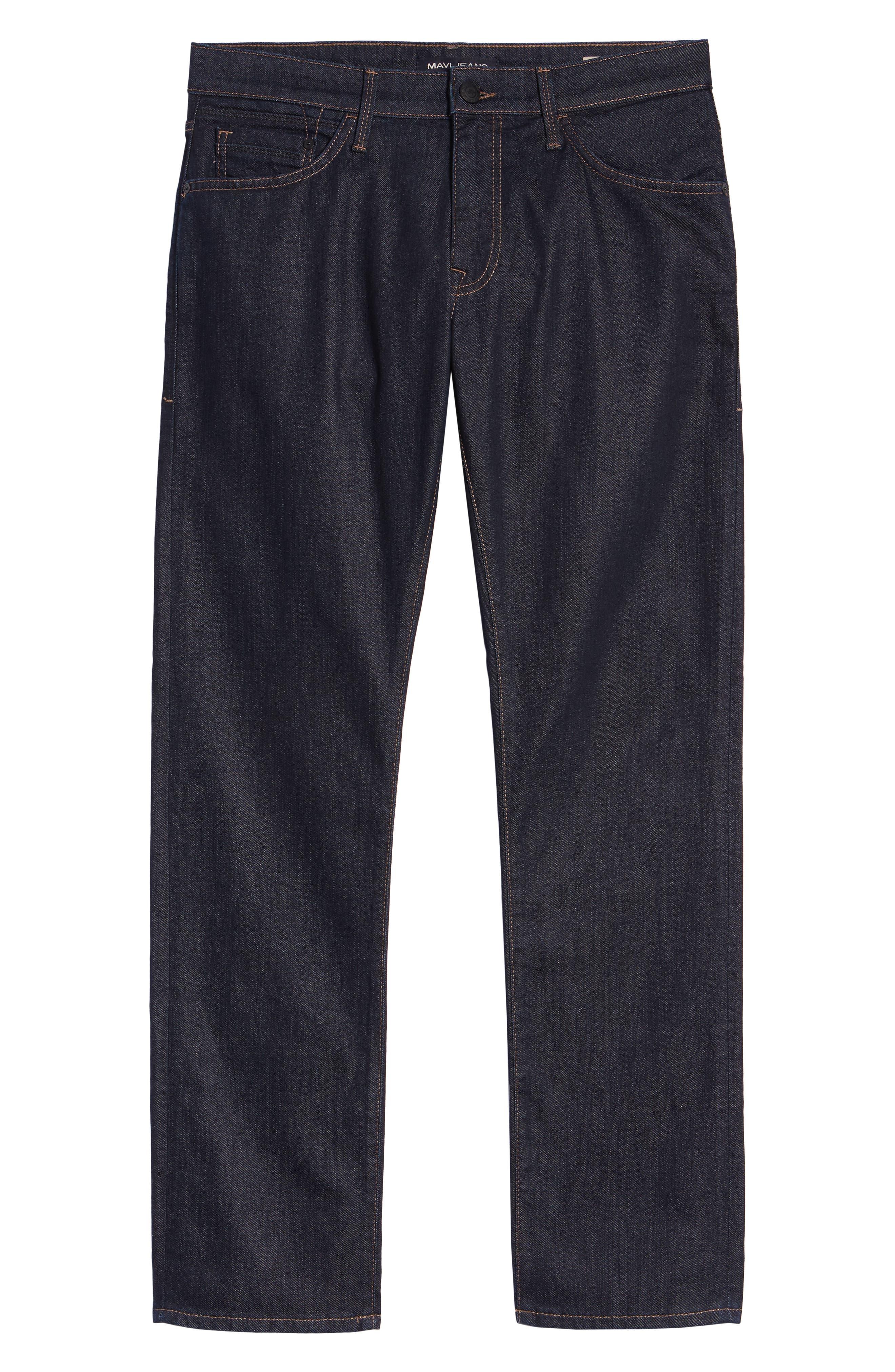 Zach Straight Leg Jeans,                             Alternate thumbnail 2, color,                             RINSE WILLIAMSBURG