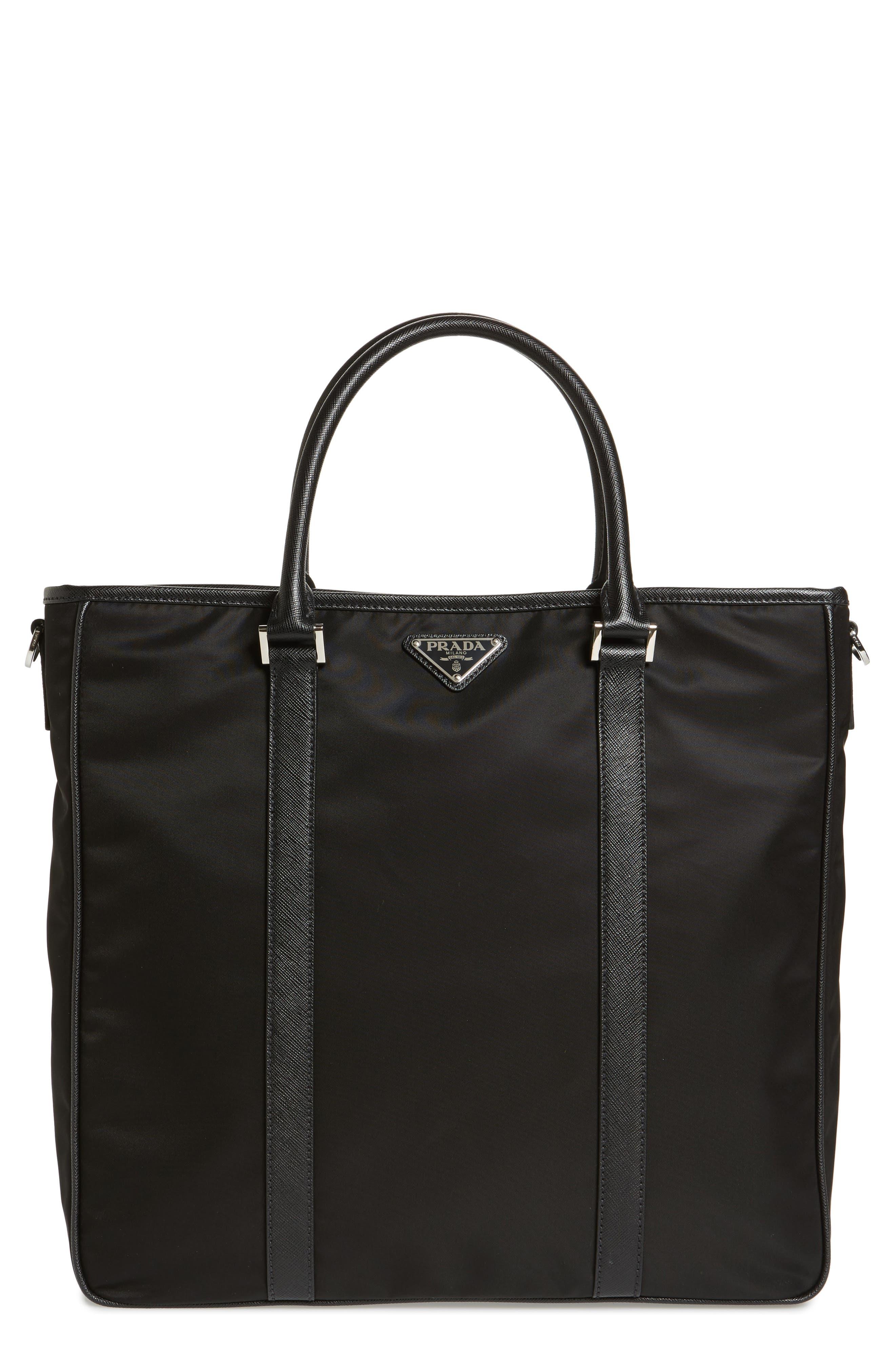 Nylon Tote Bag,                         Main,                         color, 001