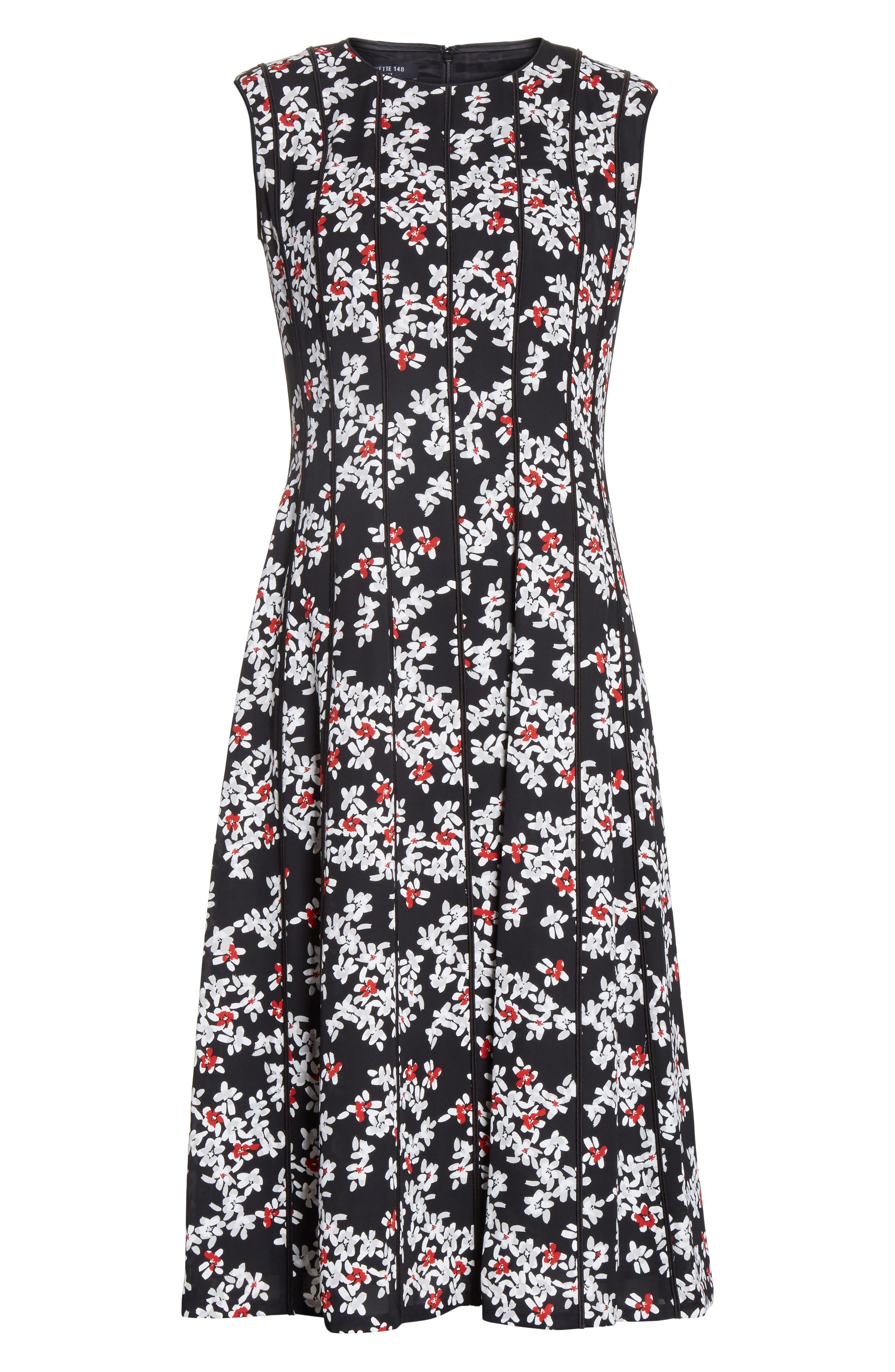 Marley Fresh Floral Drape Cloth Dress,                             Alternate thumbnail 6, color,