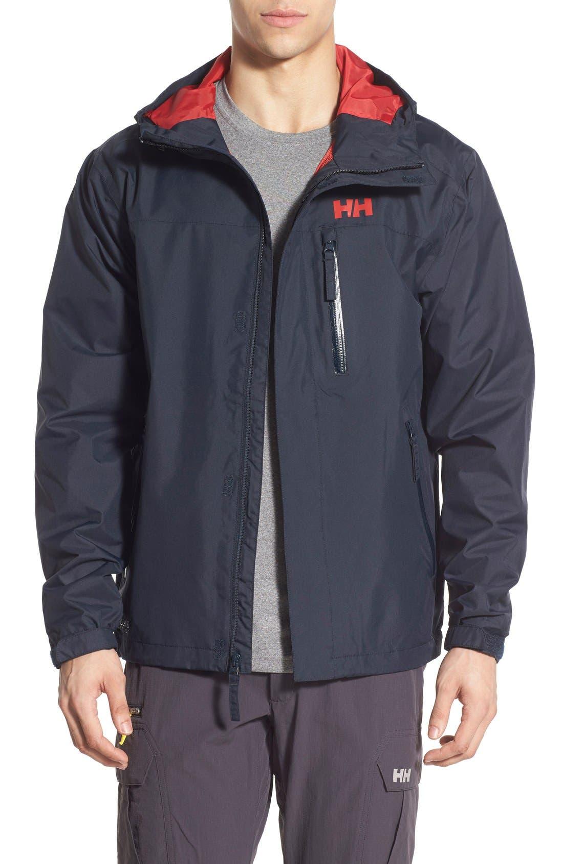 'Vancouver' Packable Rain Jacket,                             Main thumbnail 5, color,