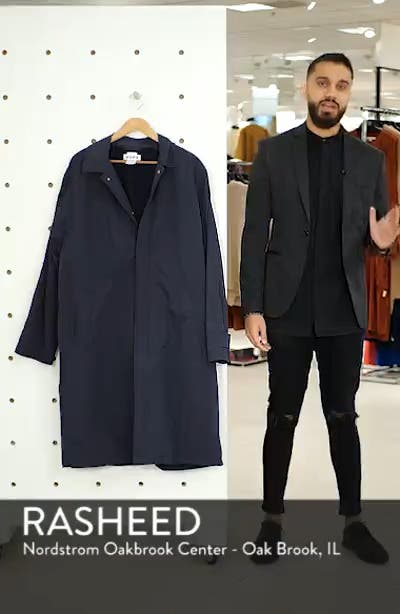 Relaxed Oversize Car Coat, sales video thumbnail