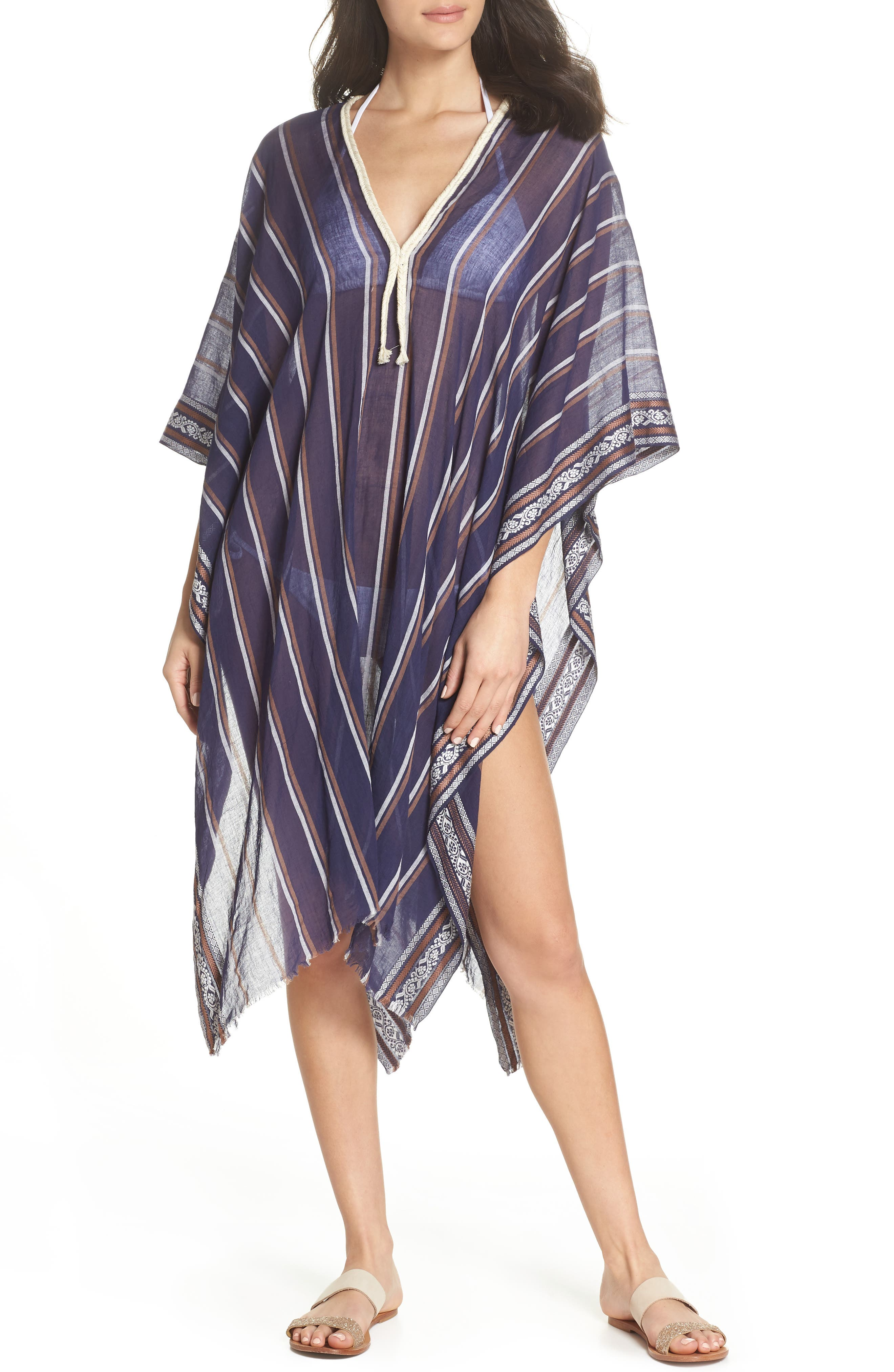 Cover-Up Tunic,                         Main,                         color, NAVY