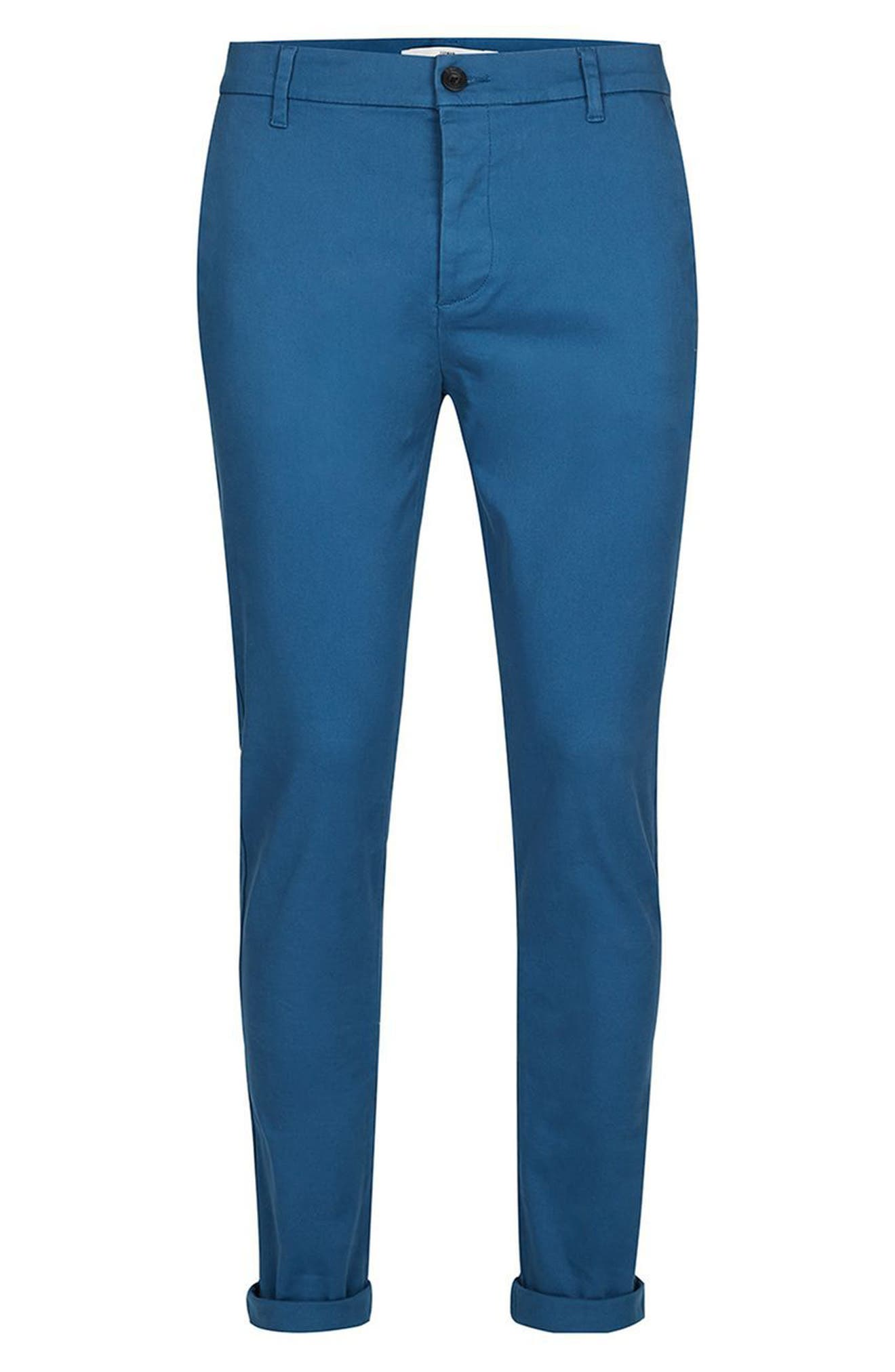 Skinny Fit Chinos,                             Alternate thumbnail 8, color,