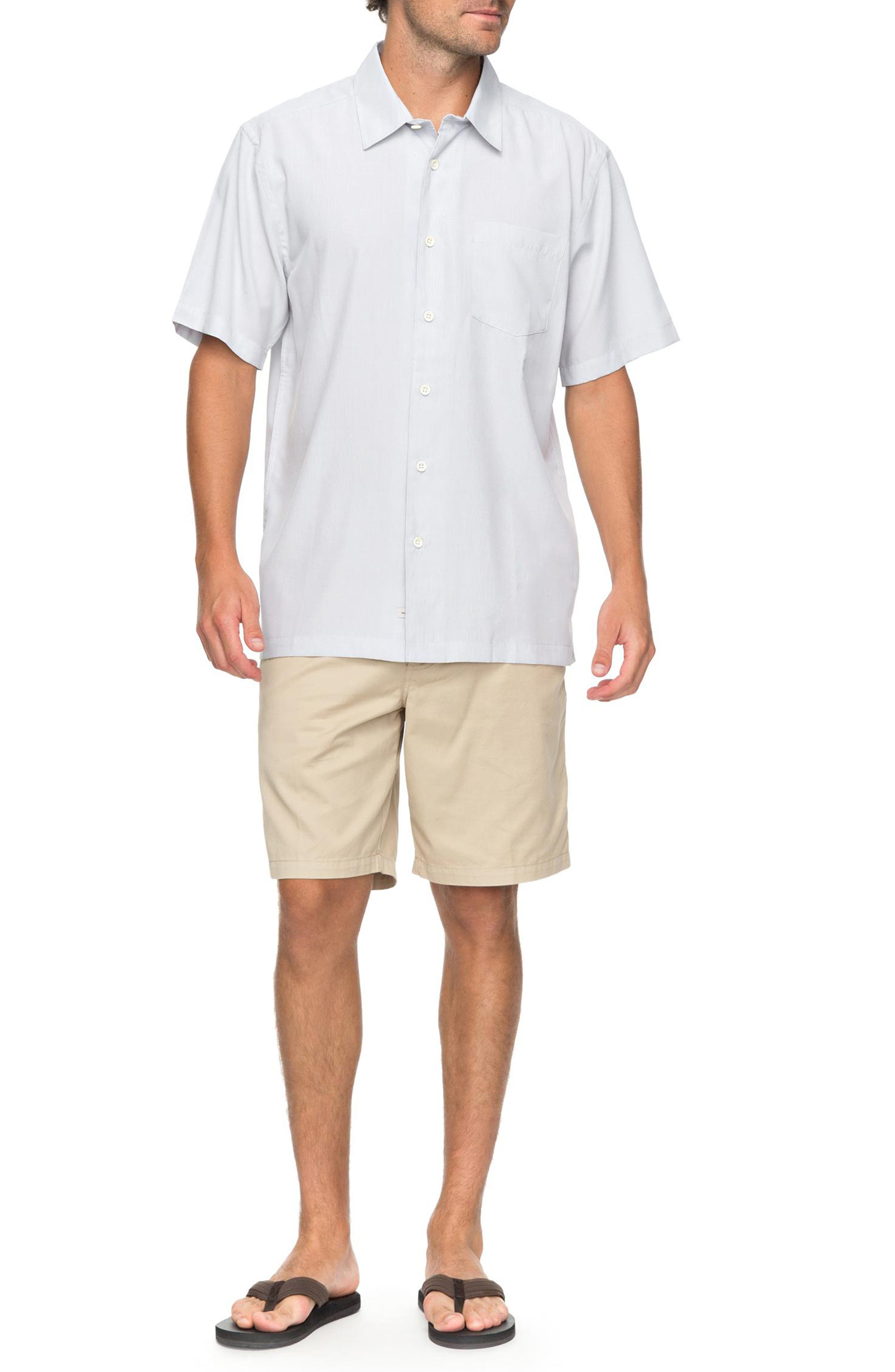 Cane Island Classic Fit Camp Shirt,                             Alternate thumbnail 7, color,                             101