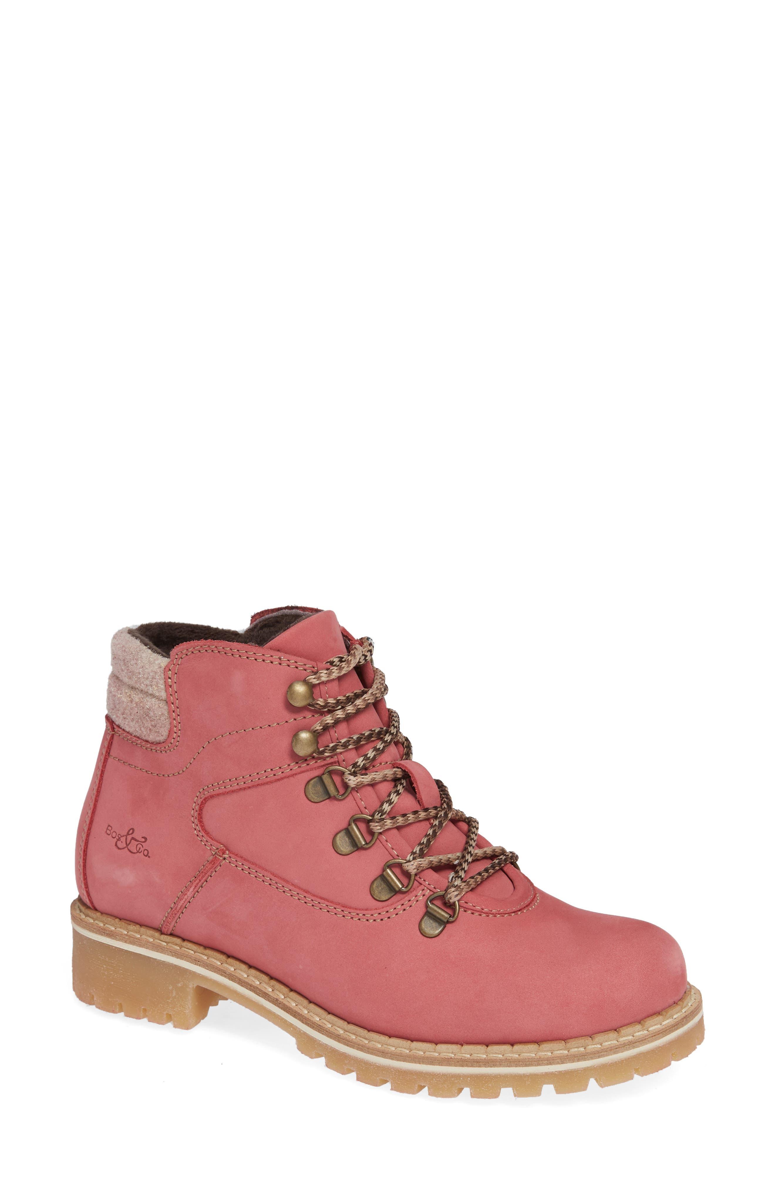 Hartney Waterproof Boot,                         Main,                         color, ROSA WOOL