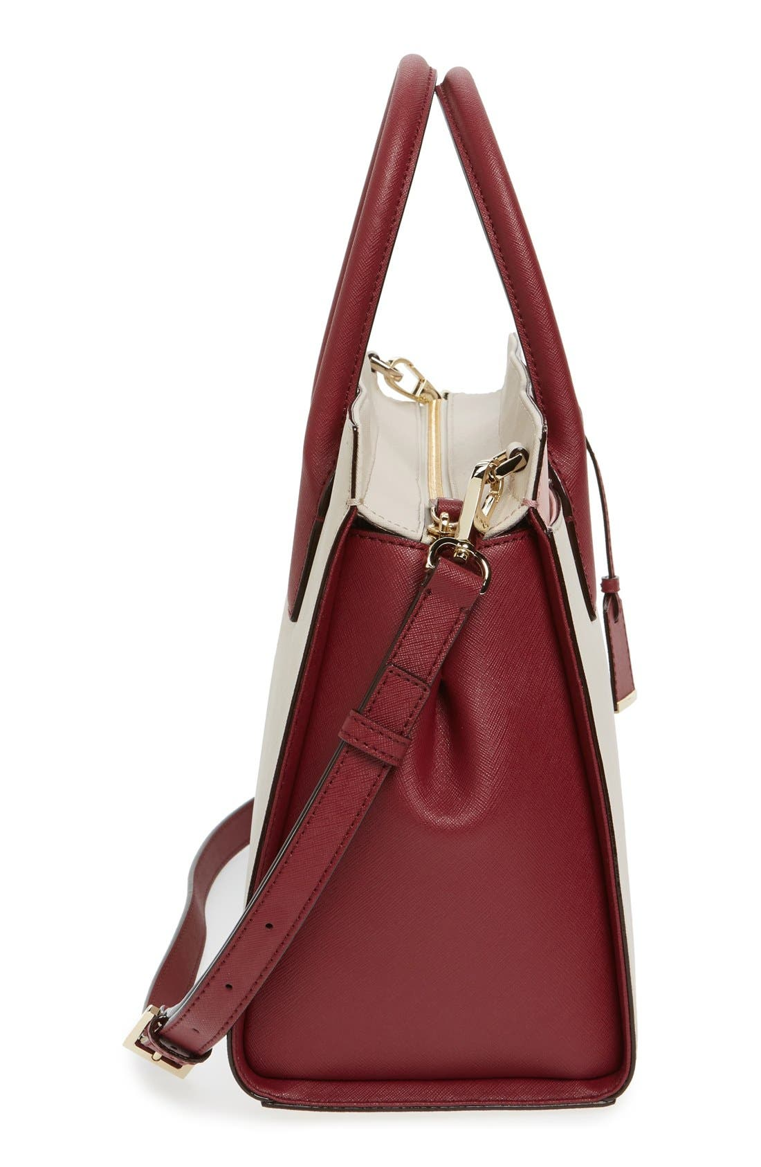 cameron street - candace leather satchel,                             Alternate thumbnail 99, color,
