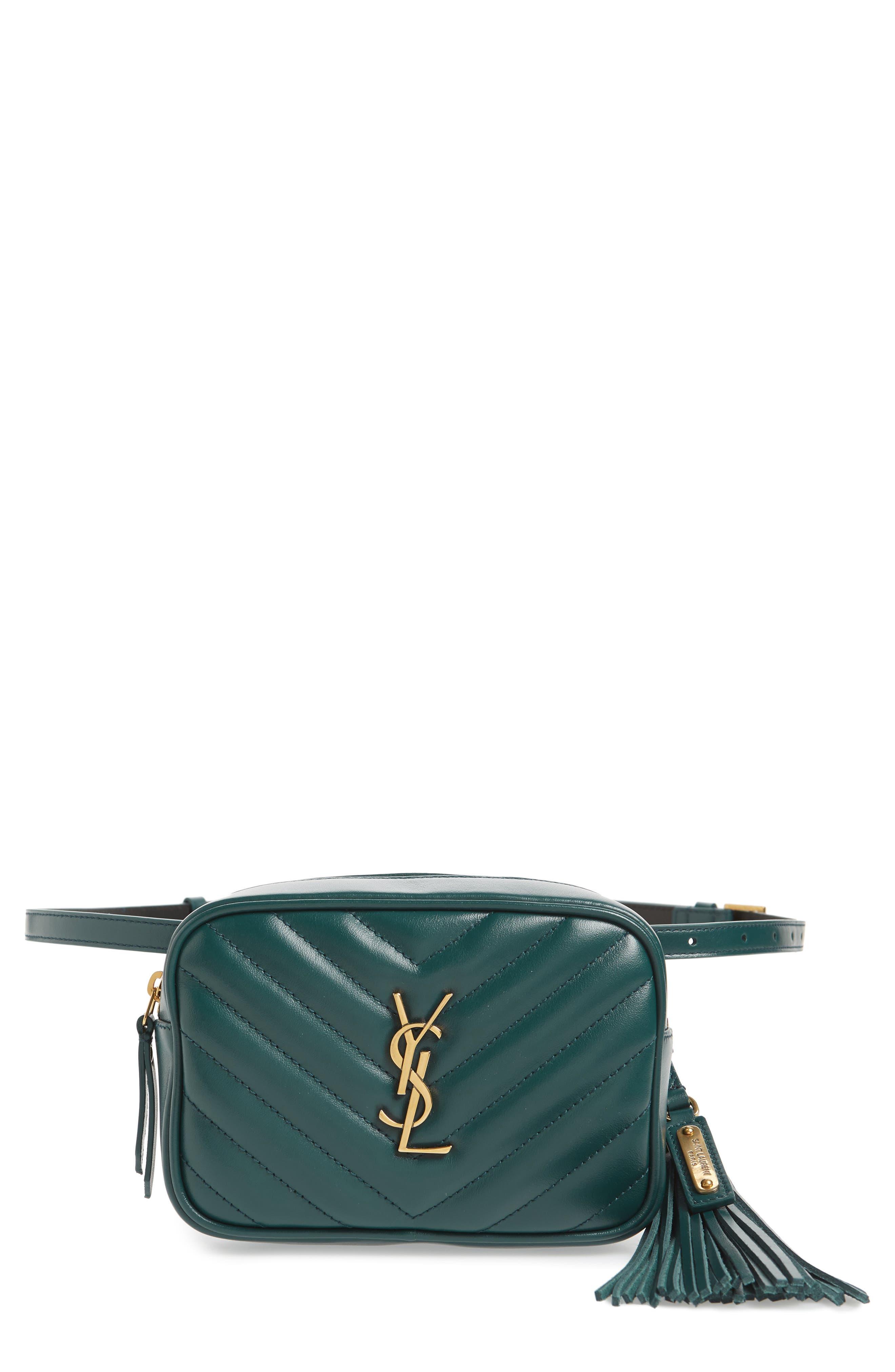 Loulou Matelassé Leather Belt Bag,                         Main,                         color, 300