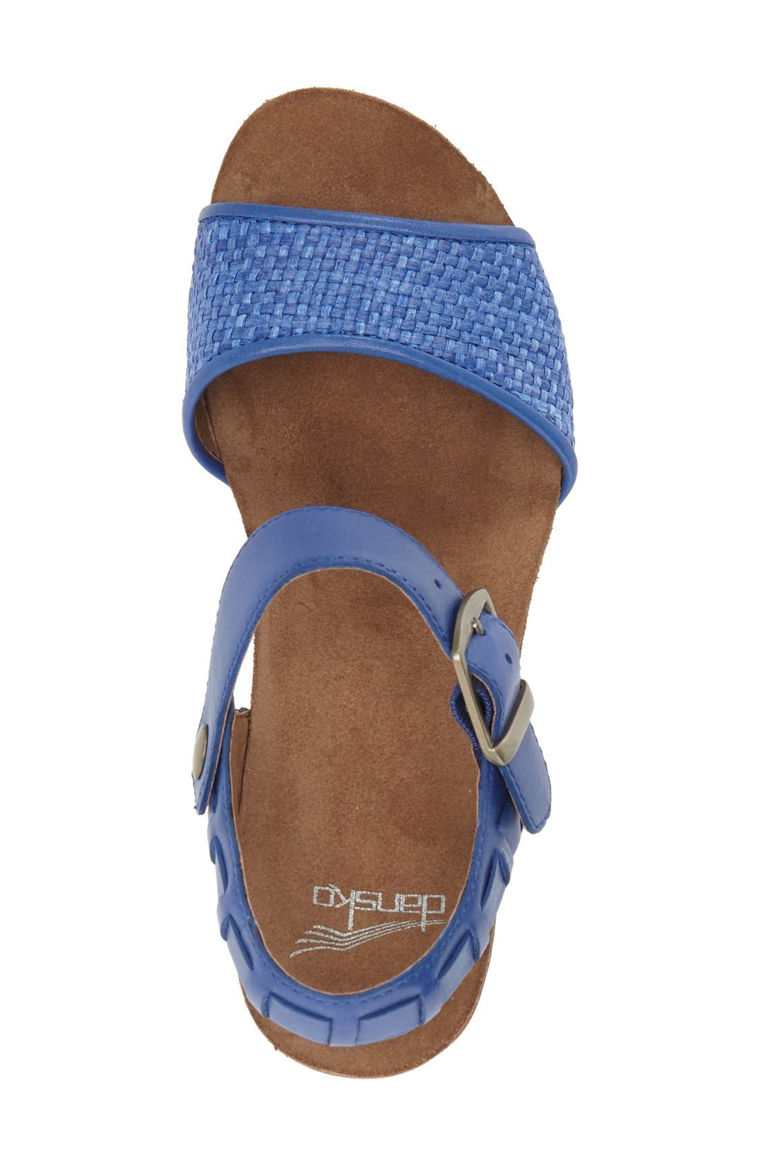 'Debby' Platform Sandal,                             Alternate thumbnail 9, color,