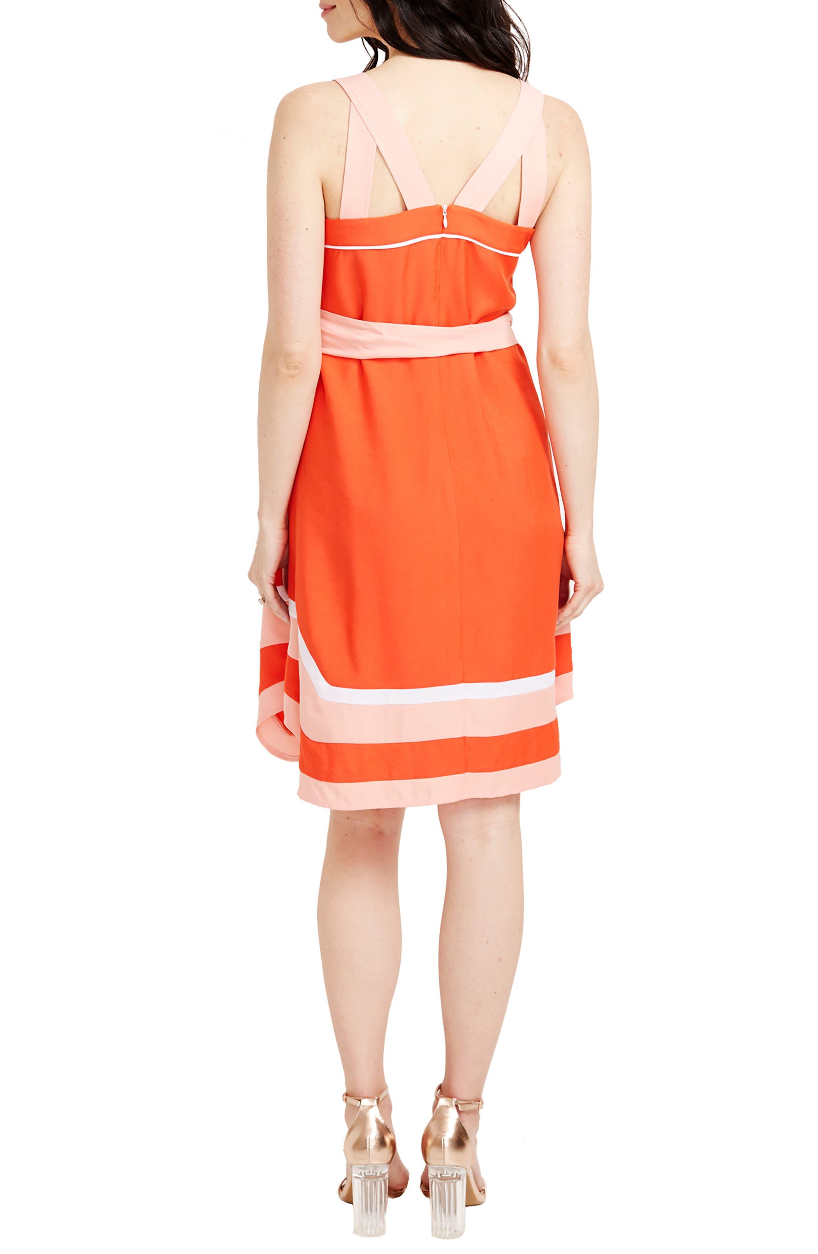 ROSIE POPE,                             Delfina Maternity Dress,                             Alternate thumbnail 2, color,                             820