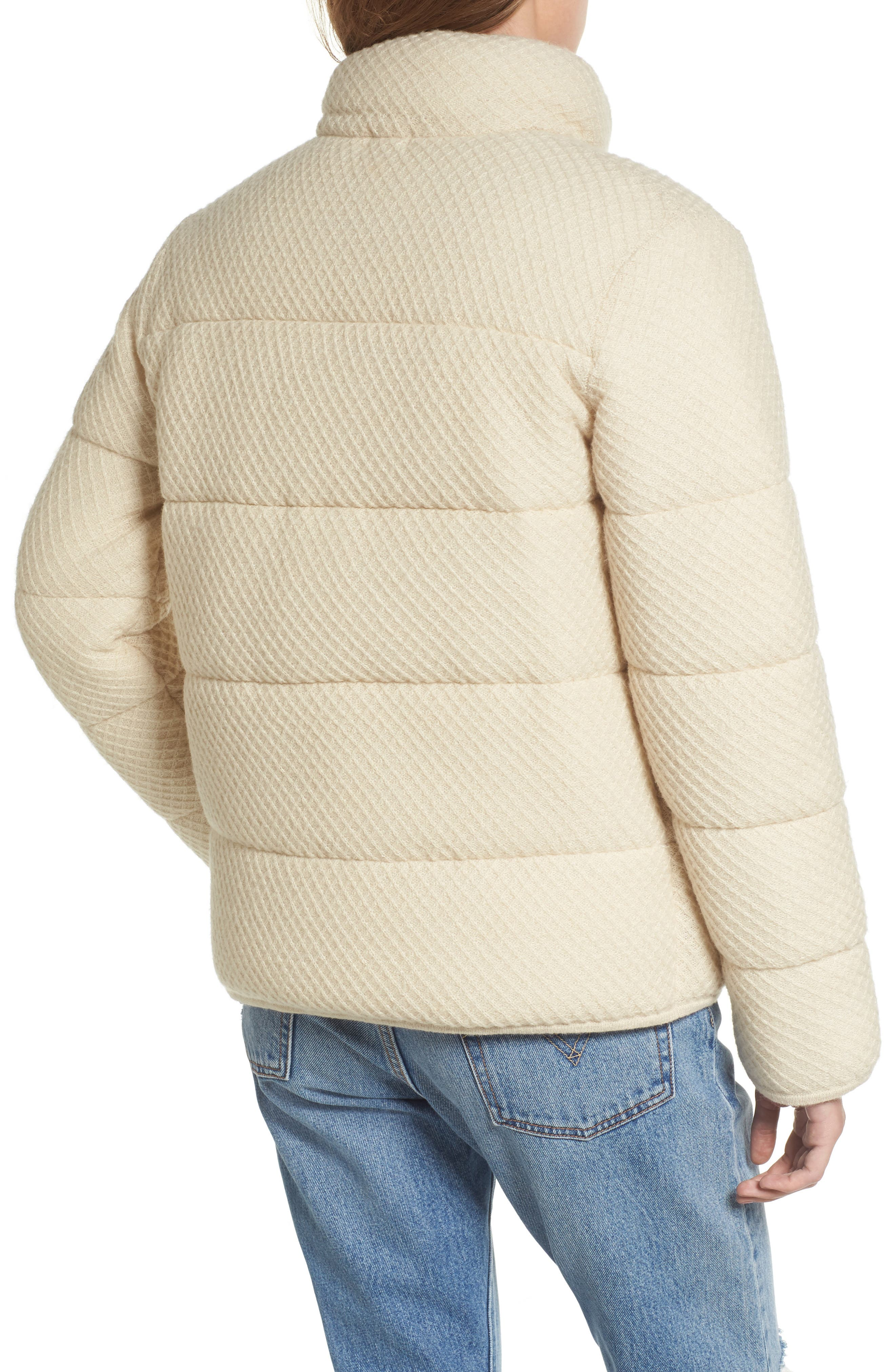Knit Puffer Jacket,                             Alternate thumbnail 2, color,                             900