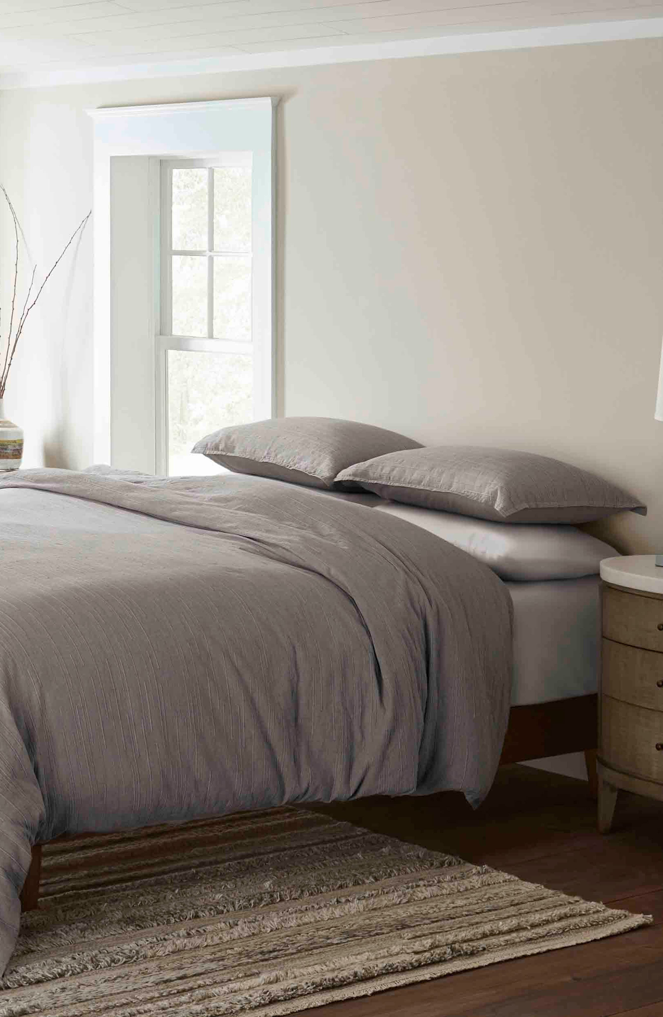 Tulare Comforter & Sham Set, Main, color, NATURAL