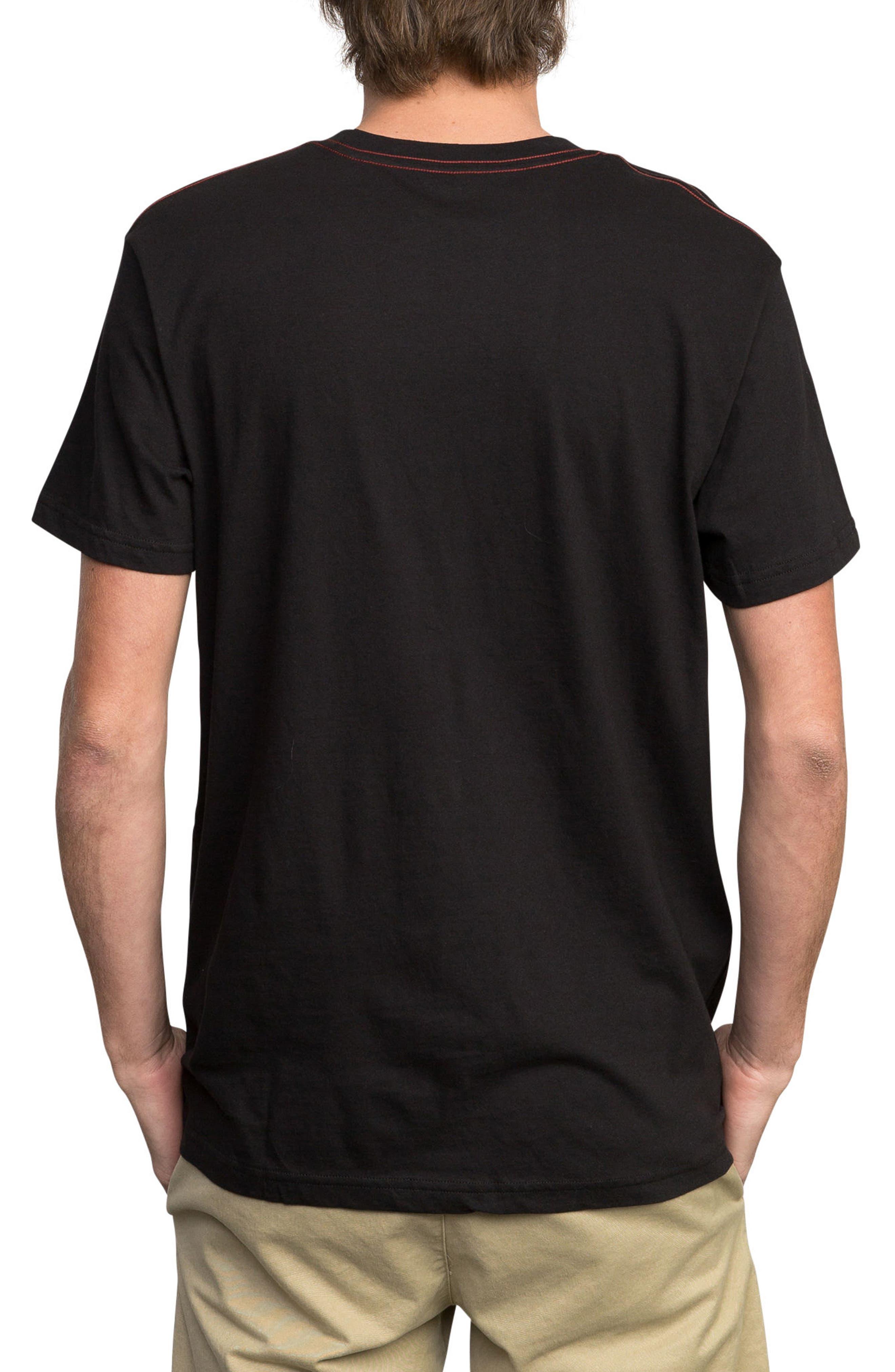 ANP Fill Graphic T-Shirt,                             Alternate thumbnail 2, color,                             001