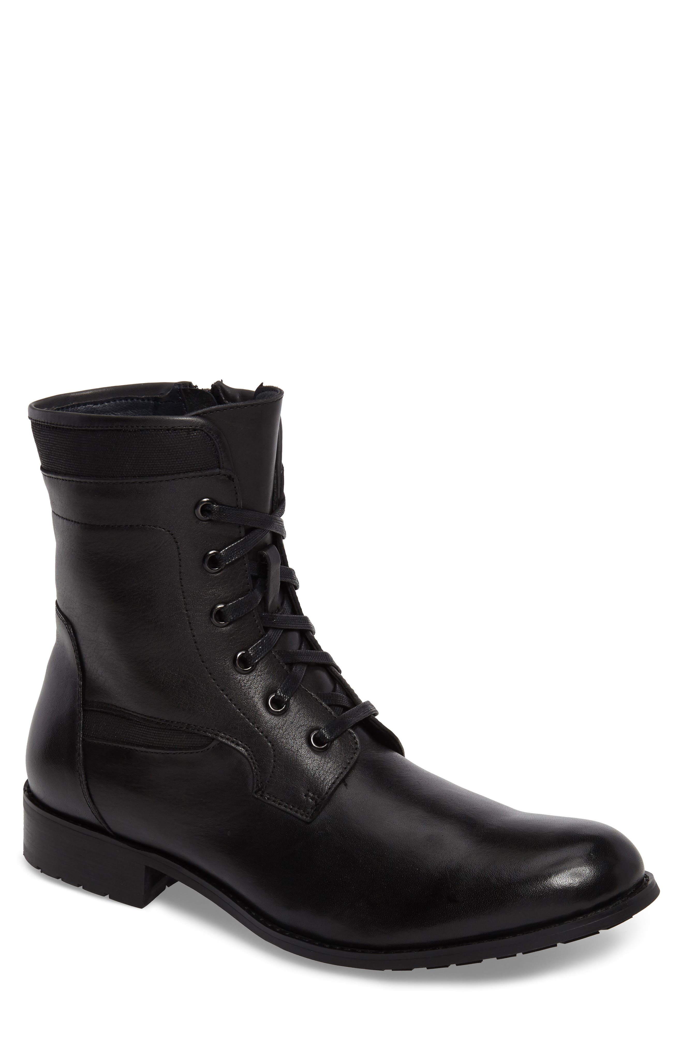 Page Plain Toe Boot,                         Main,                         color, 001
