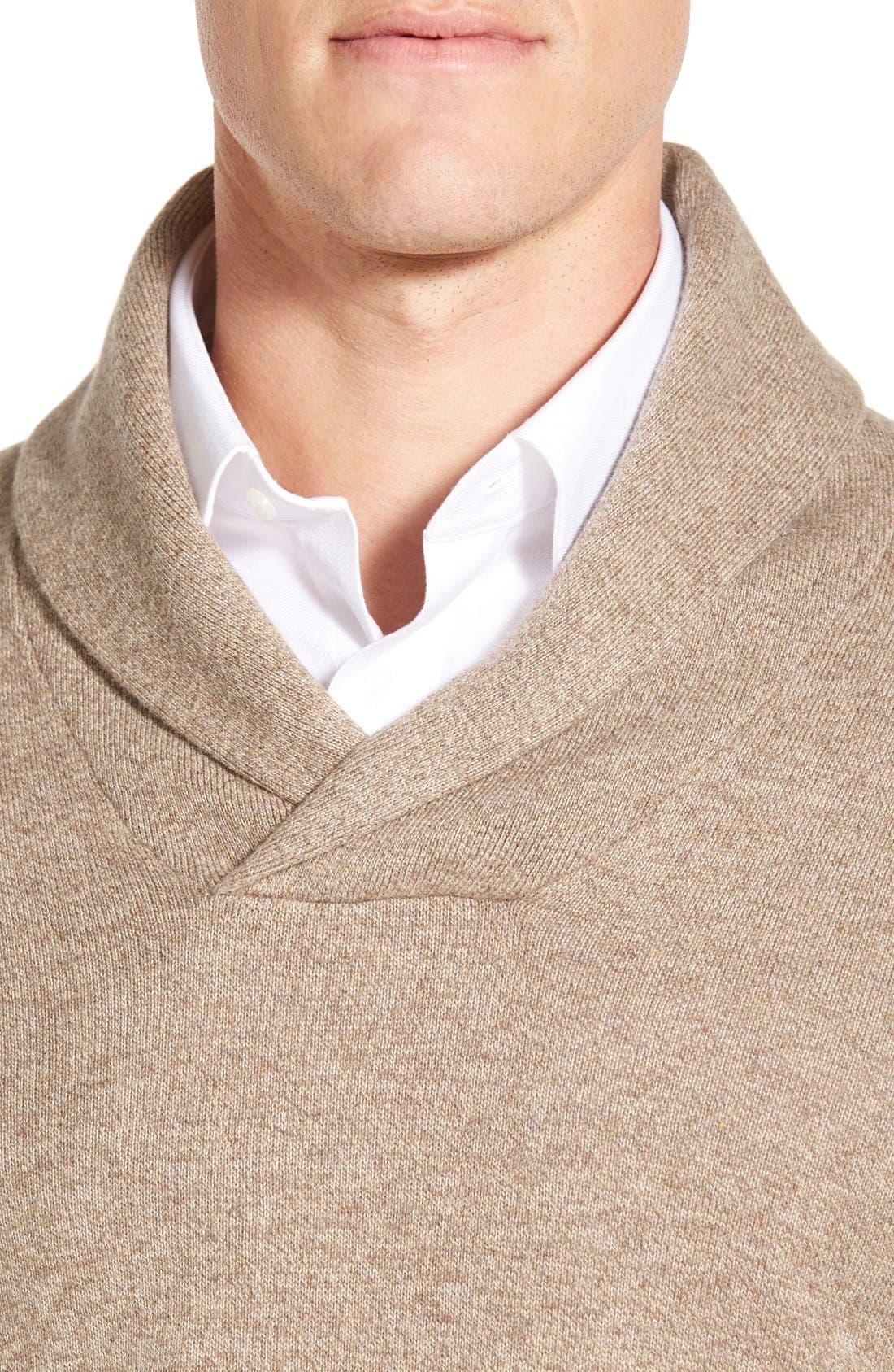 Men's Shop Shawl Collar Sweater,                             Alternate thumbnail 22, color,