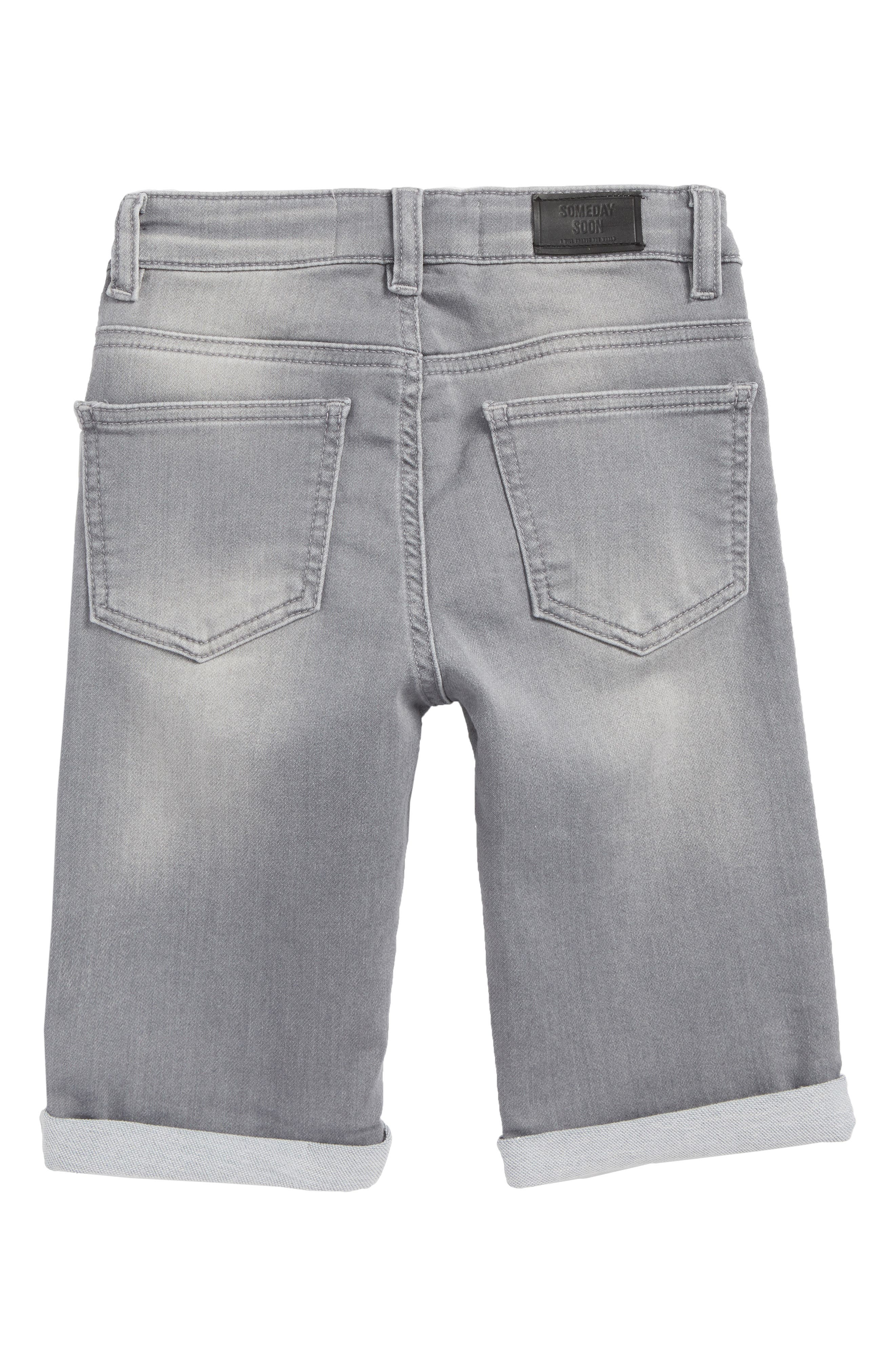 Carl Denim Shorts,                             Alternate thumbnail 2, color,                             020