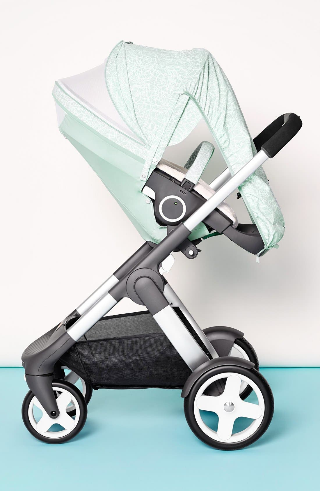 Baby 'Xplory<sup>®</sup> Stroller Summer Kit' Shade Set,                             Alternate thumbnail 3, color,                             SALTY BLUE