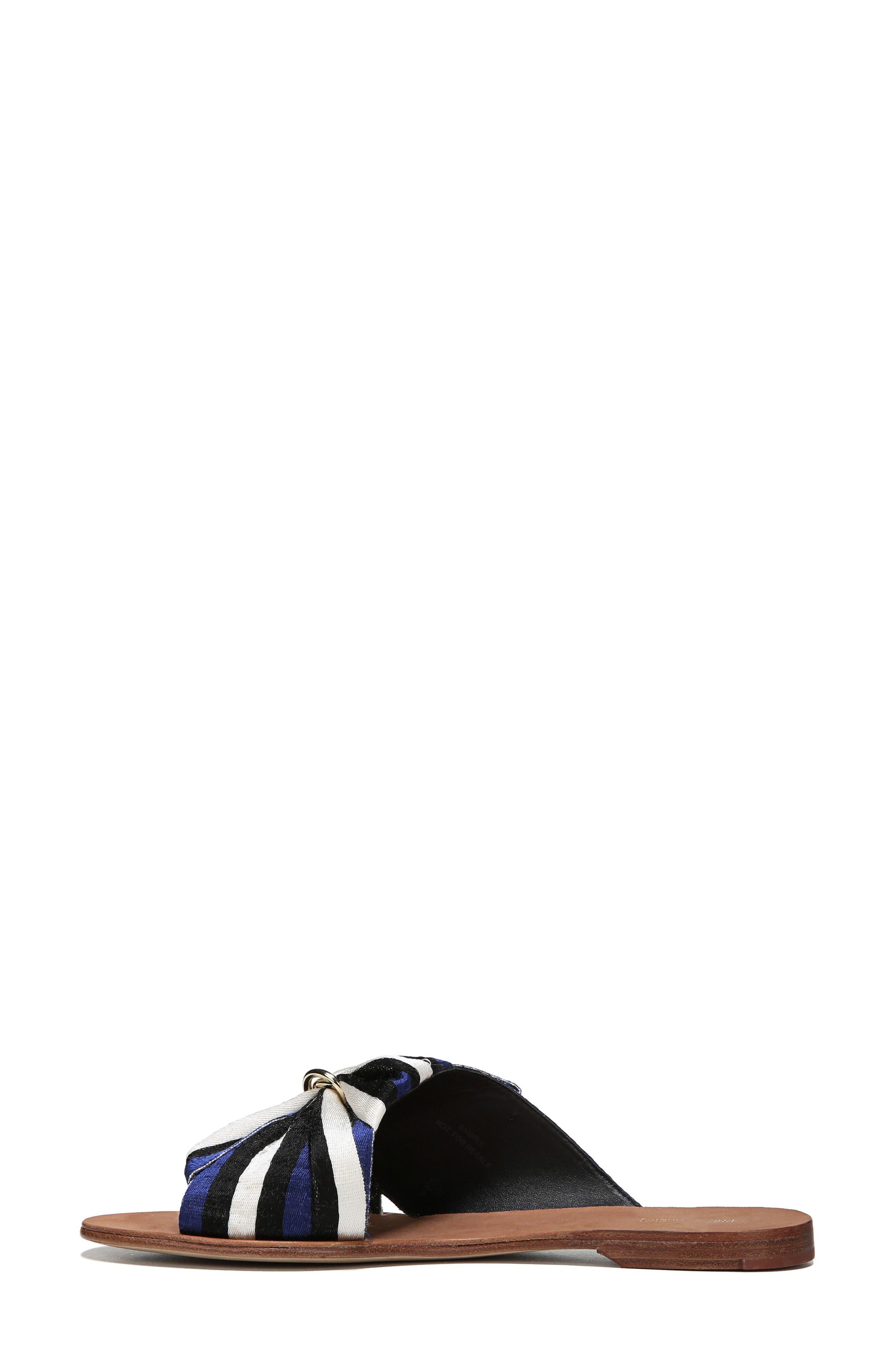 Bella Asymmetrical Slide Sandal,                             Alternate thumbnail 3, color,                             400