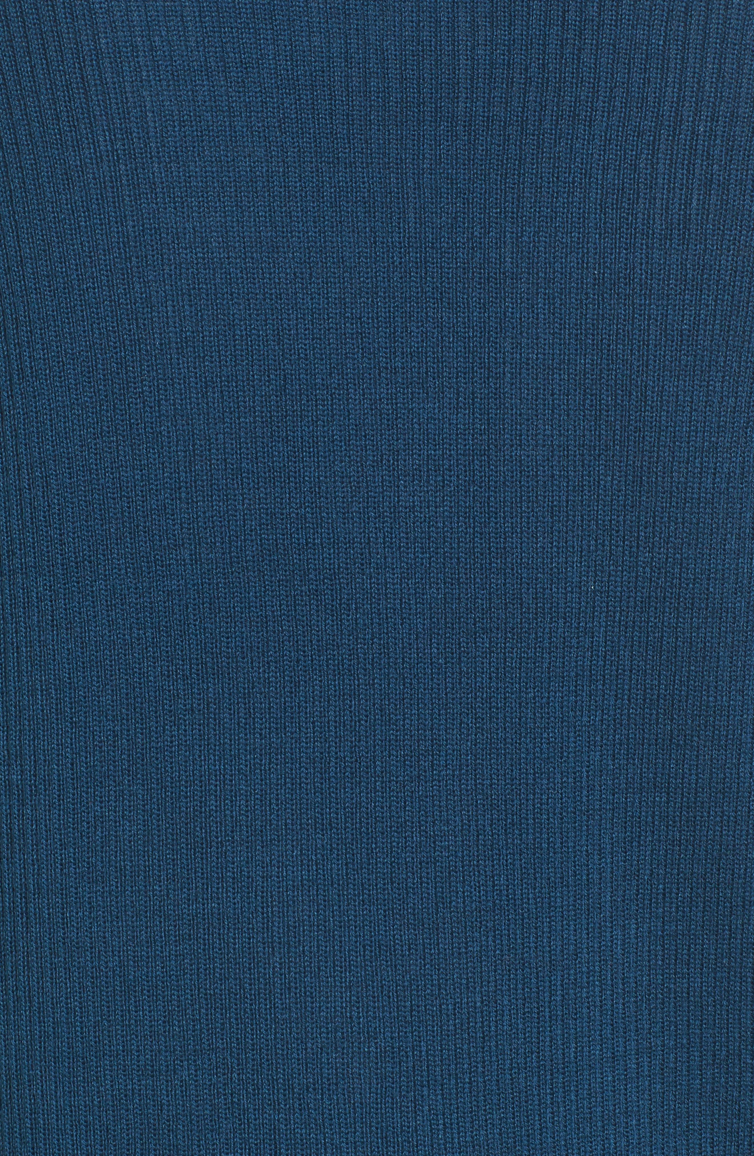 Rib Knit Wool Blend Cardigan,                             Alternate thumbnail 90, color,