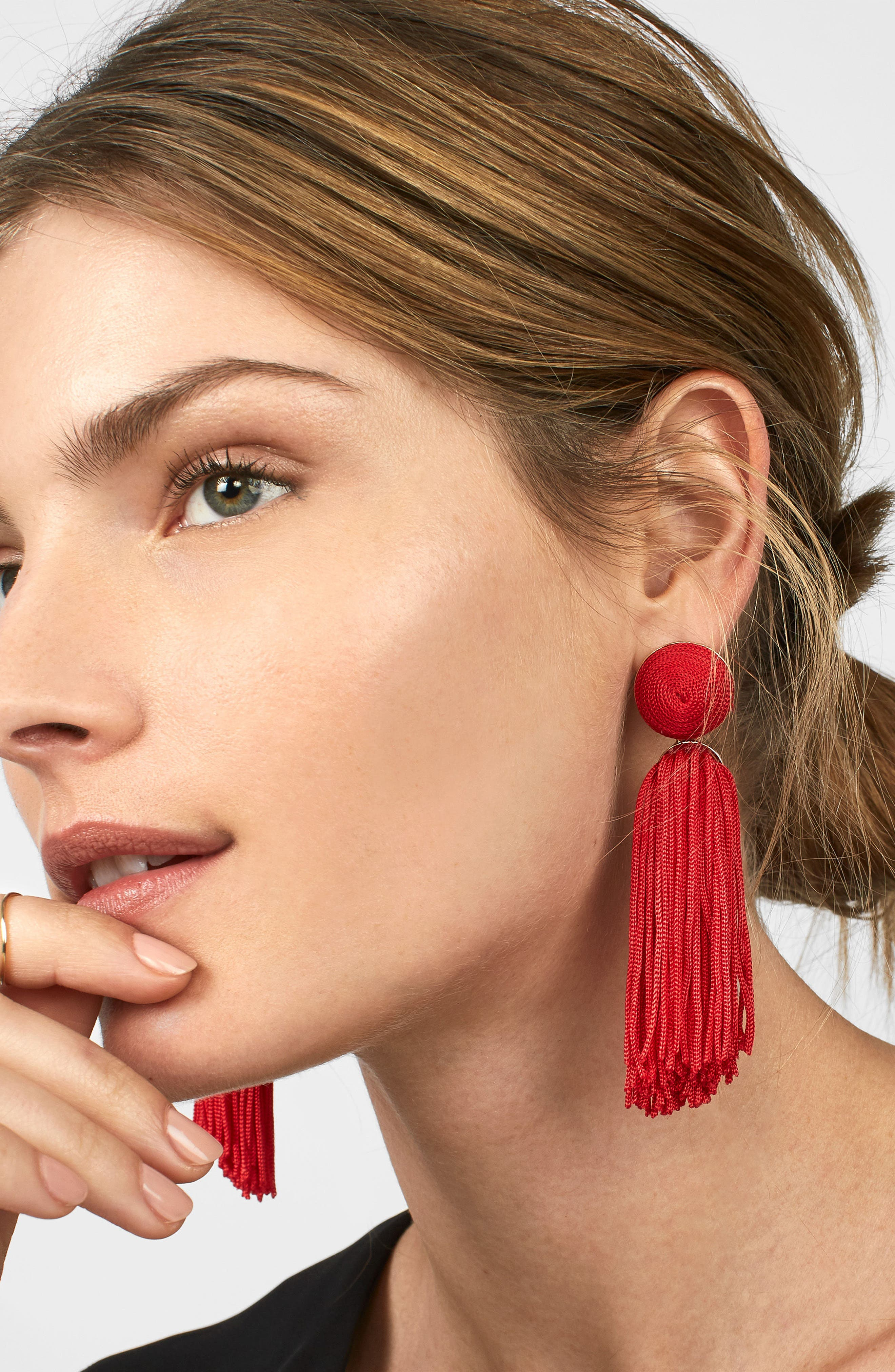 Sonatina Tassel Earrings,                             Alternate thumbnail 15, color,