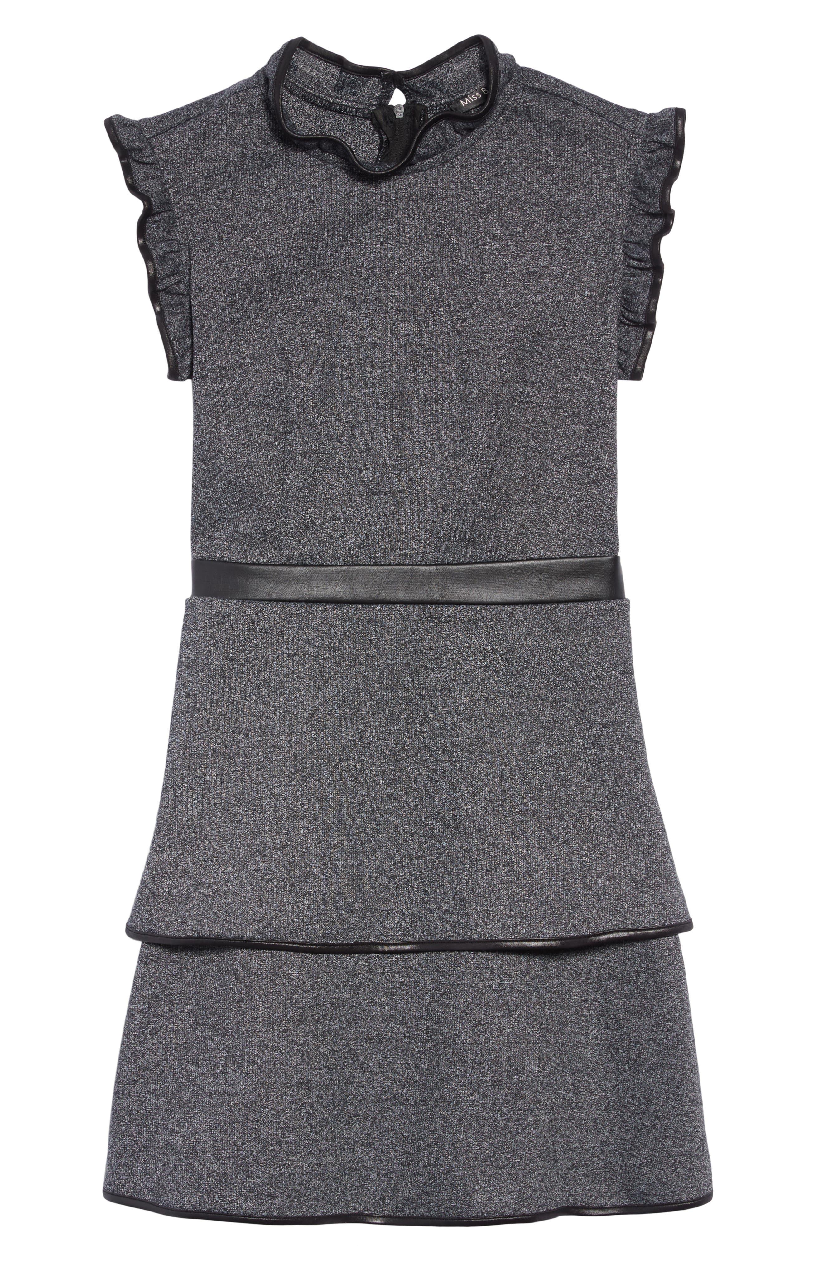 Carol Knit Dress,                             Main thumbnail 1, color,                             001