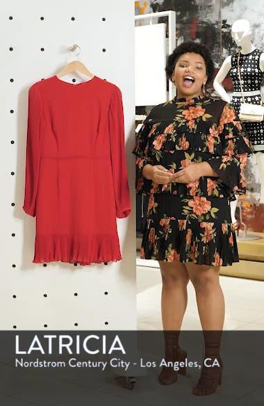 Pleat Sleeve & Ruffle Hem Dress, sales video thumbnail