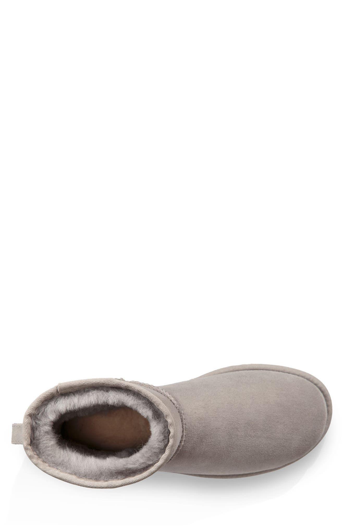 UGG<SUP>®</SUP>,                             Classic Mini Boot,                             Alternate thumbnail 4, color,                             024