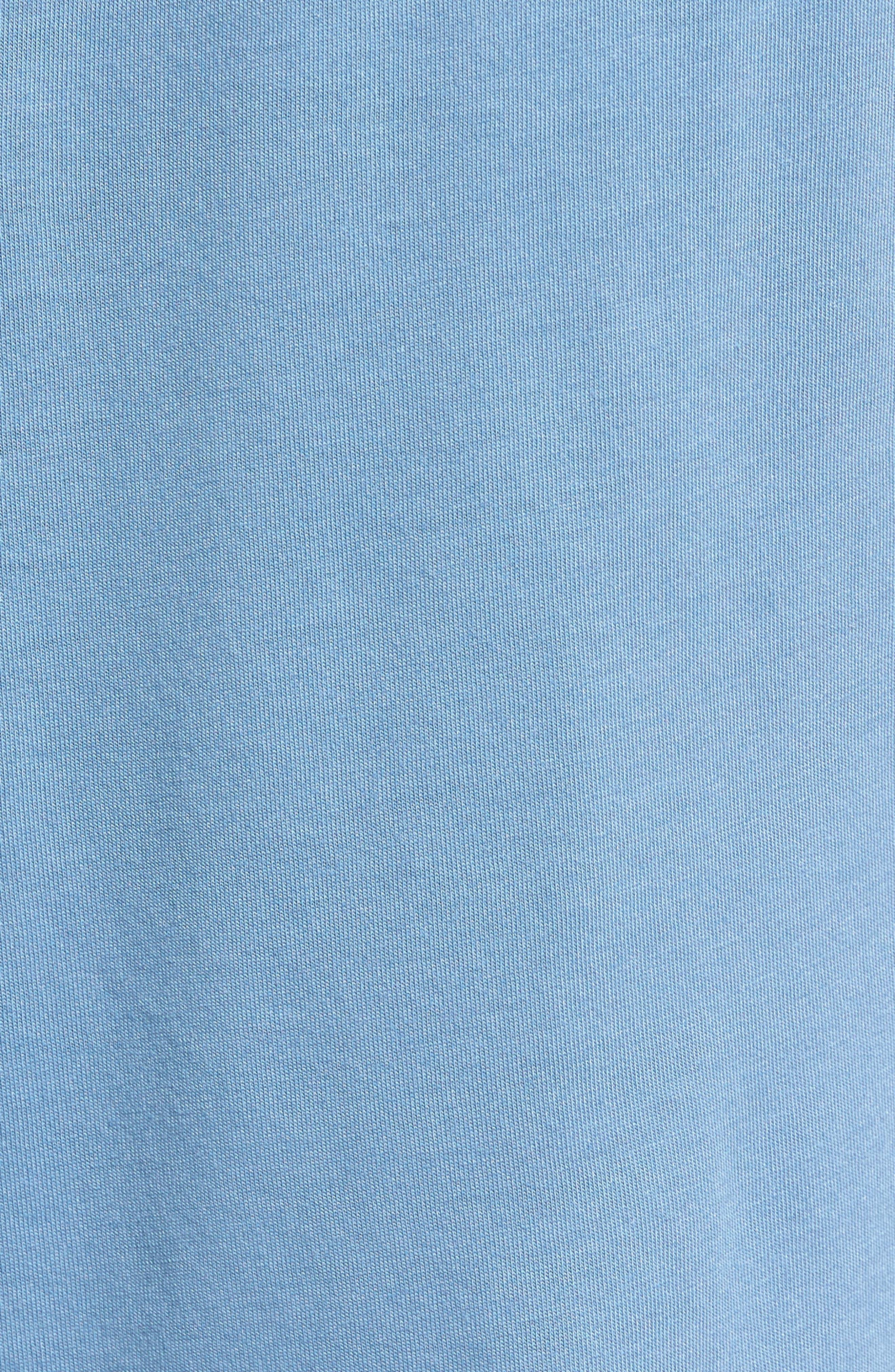 Pima Cotton & Modal Lounge Shorts,                             Alternate thumbnail 5, color,                             400