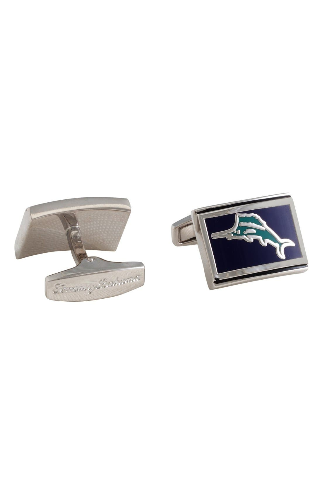Marlin Cuff Links,                         Main,                         color, 318