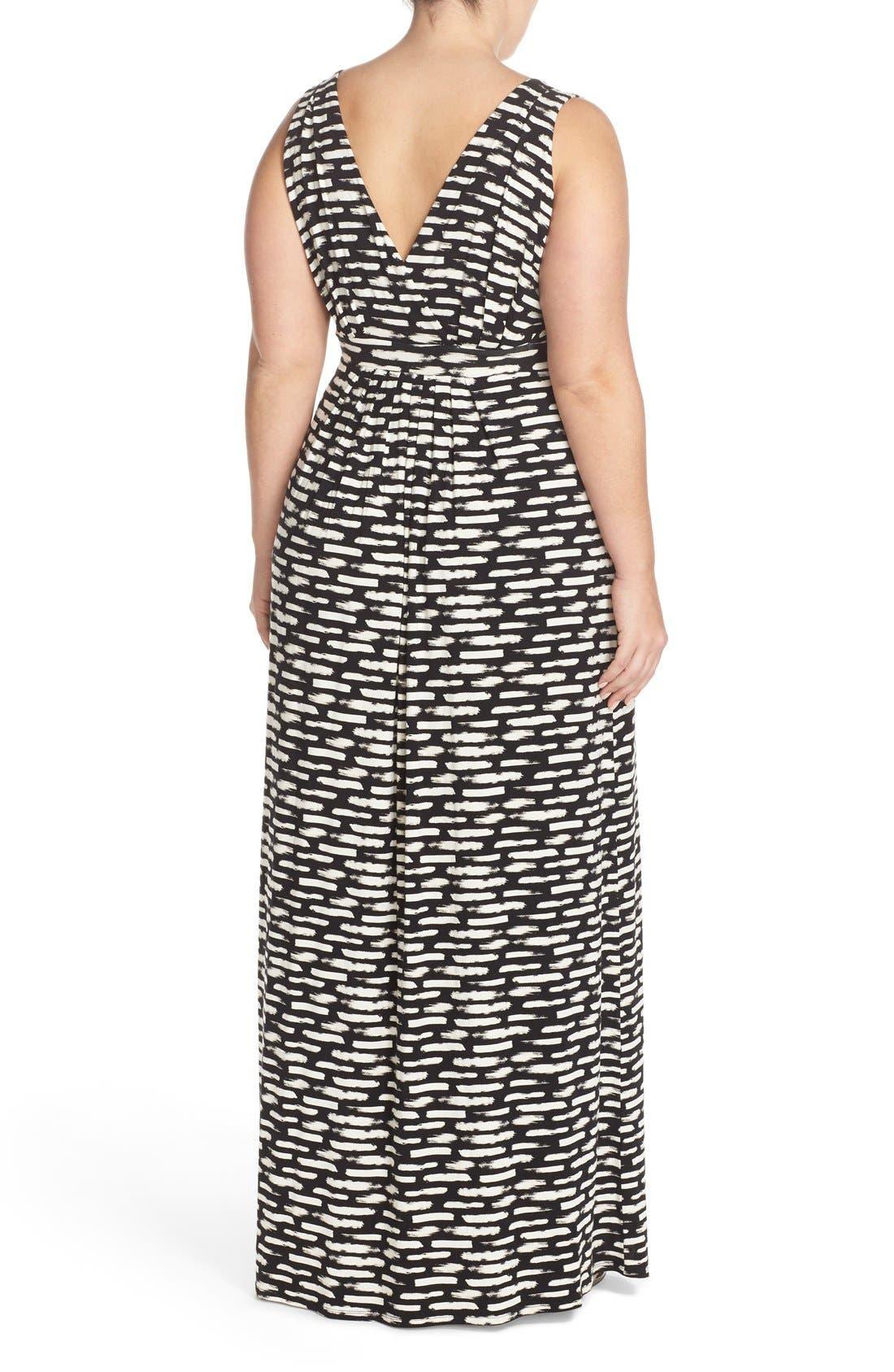 Chloe Empire Waist Maxi Dress,                             Alternate thumbnail 23, color,
