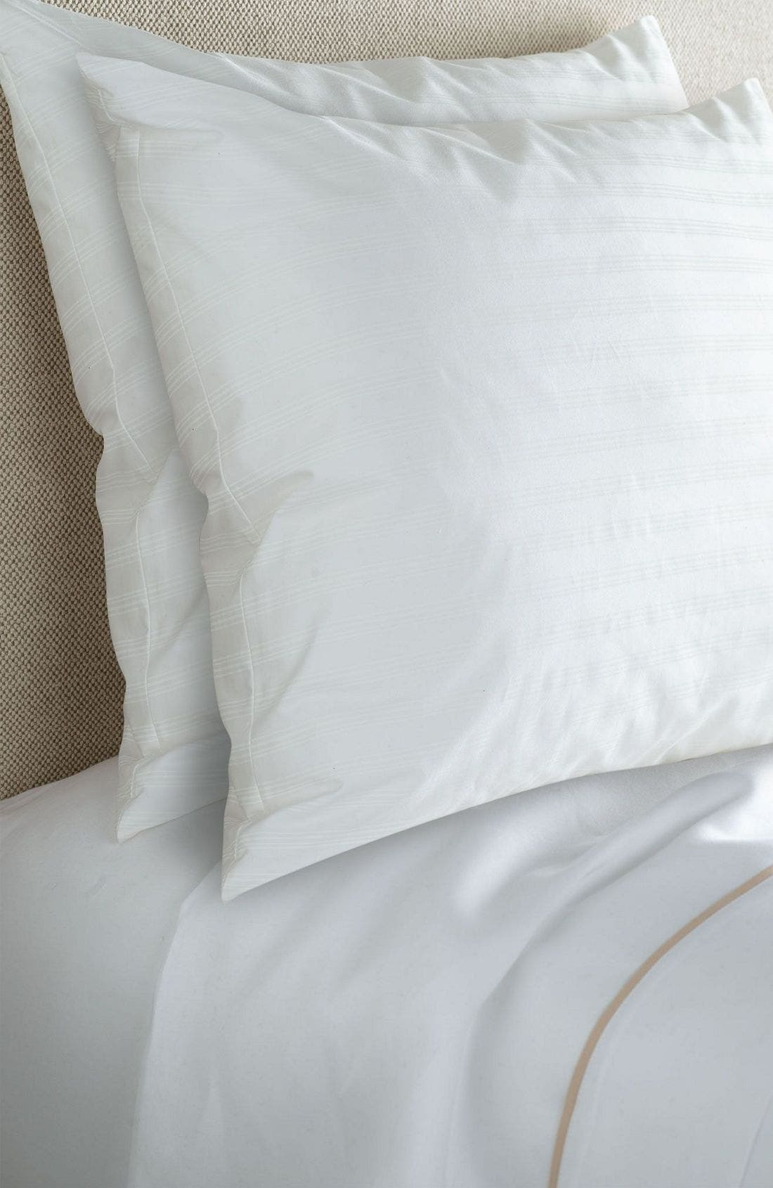 'Home Collection' Hypoallergenic Pillow,                             Alternate thumbnail 5, color,                             WHI