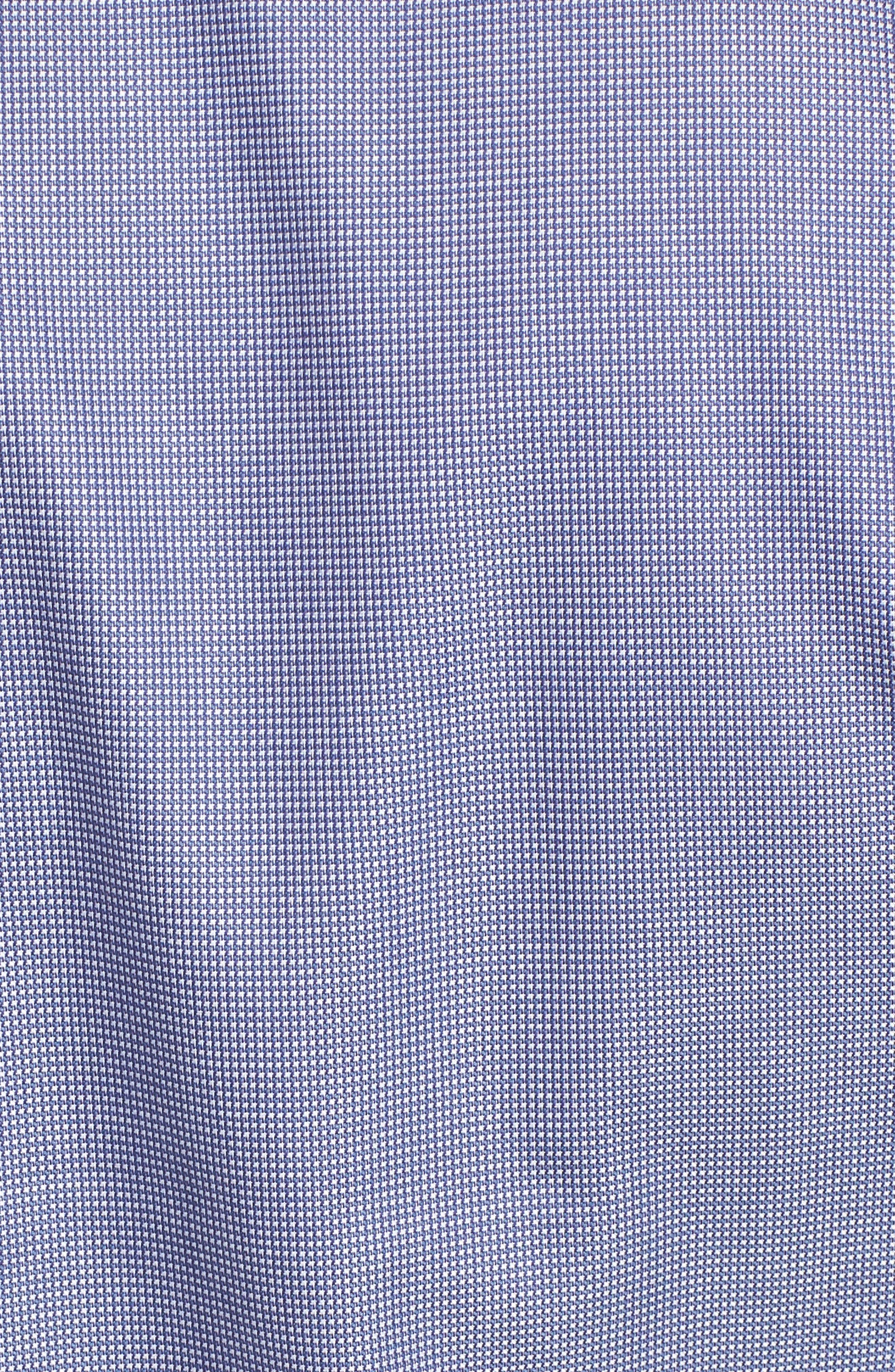 'Classic' Smartcare<sup>™</sup> Regular Fit Short Sleeve Cotton Sport Shirt,                             Alternate thumbnail 95, color,