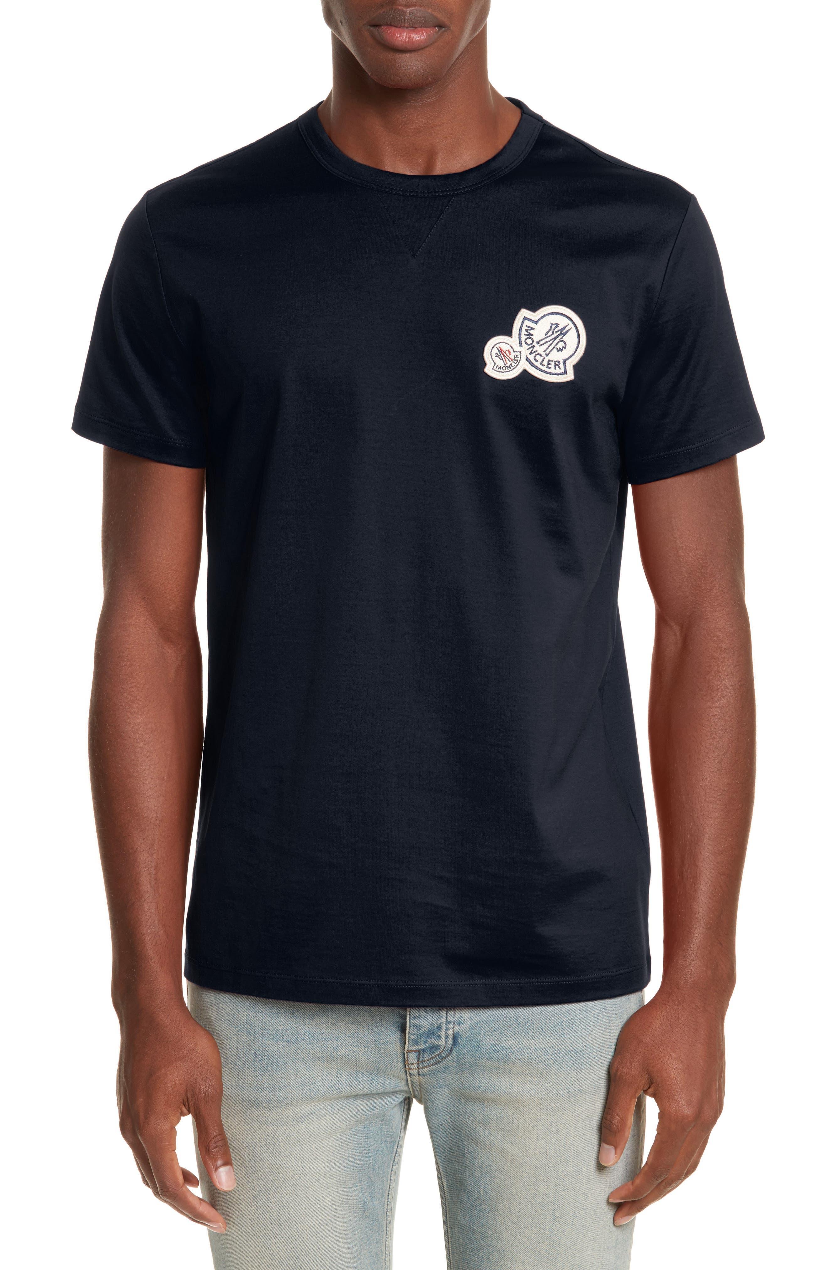 Patch T-Shirt,                             Main thumbnail 1, color,                             NAVY