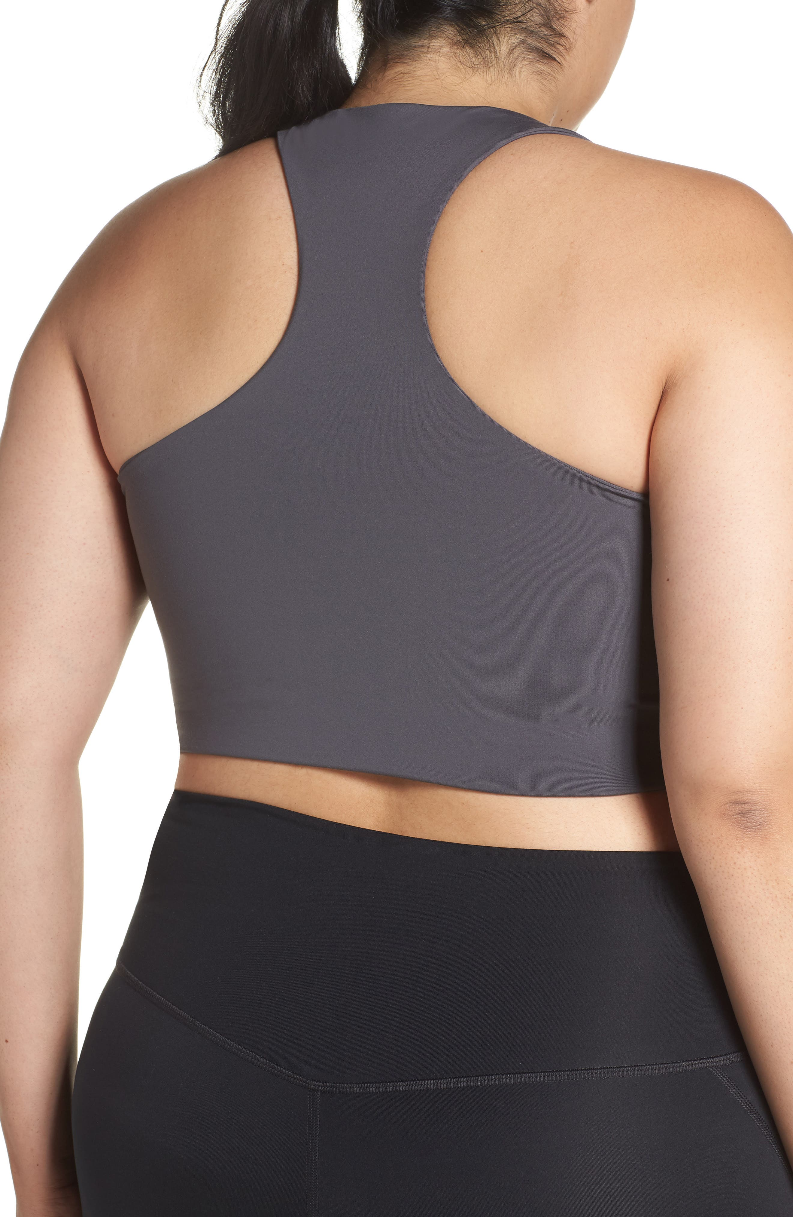 Paloma Sports Bra,                             Alternate thumbnail 12, color,                             SMOKE