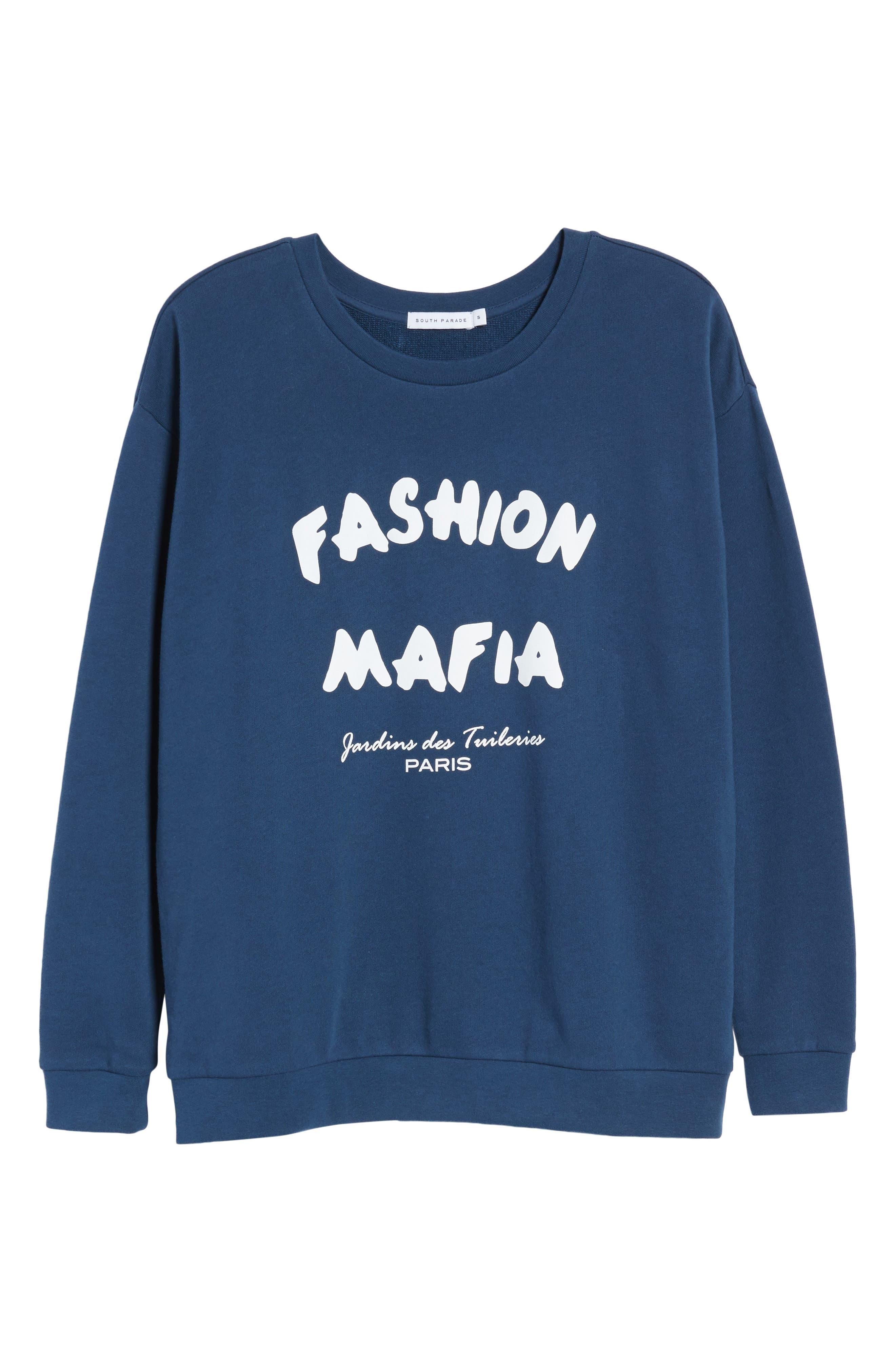 Alexa - Fashion Mafia Sweatshirt,                             Alternate thumbnail 7, color,