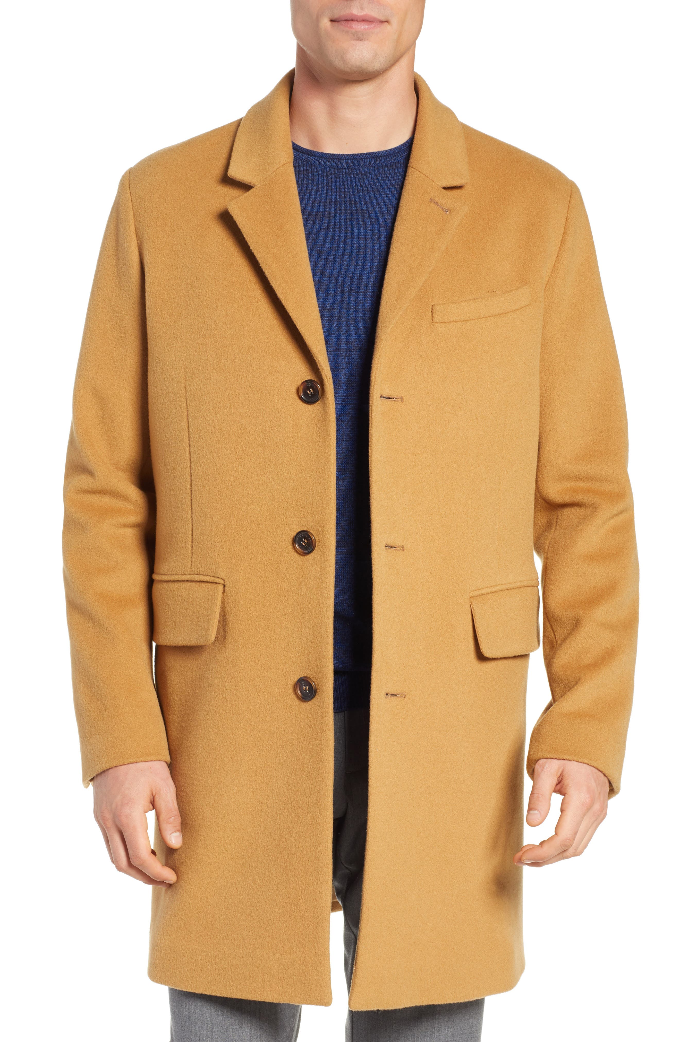 Lambswool Topcoat,                         Main,                         color, 252