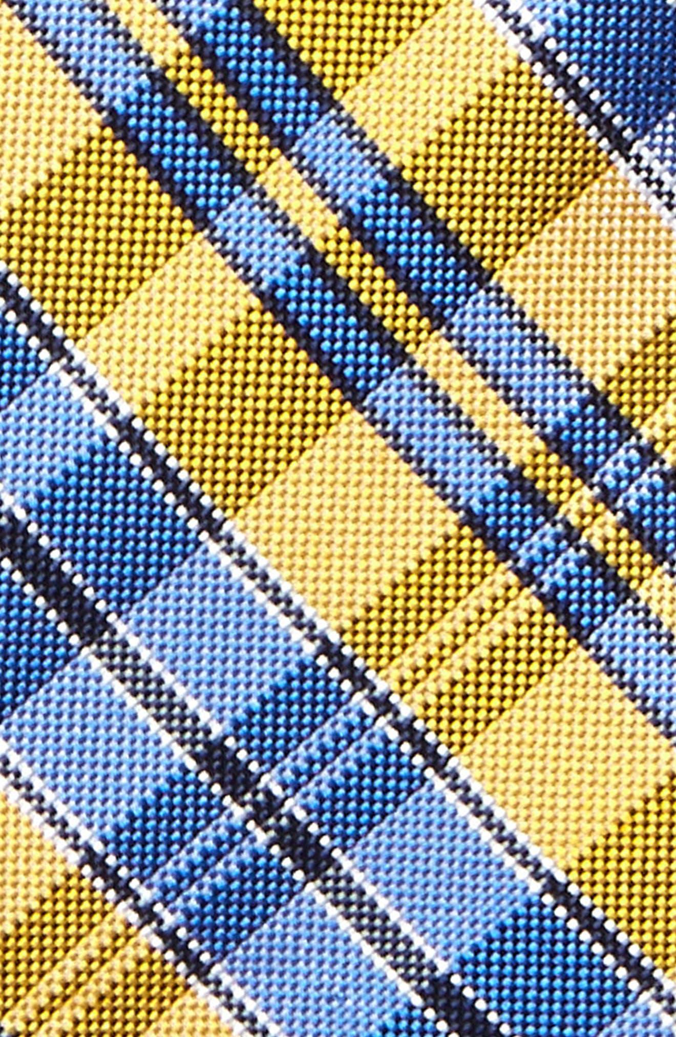 Check Silk Tie,                             Alternate thumbnail 22, color,