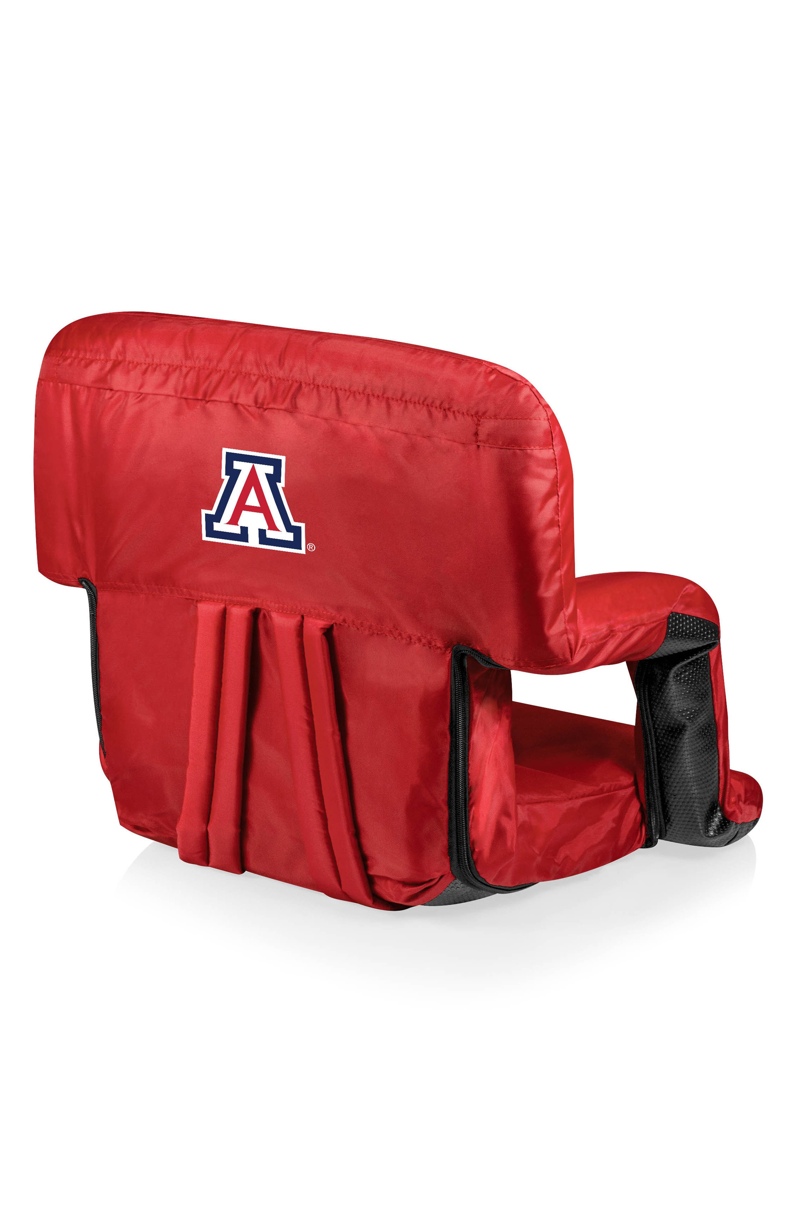 Red Ventura College Team Logo Seat, Main, color, ARIZONA WILDCATS
