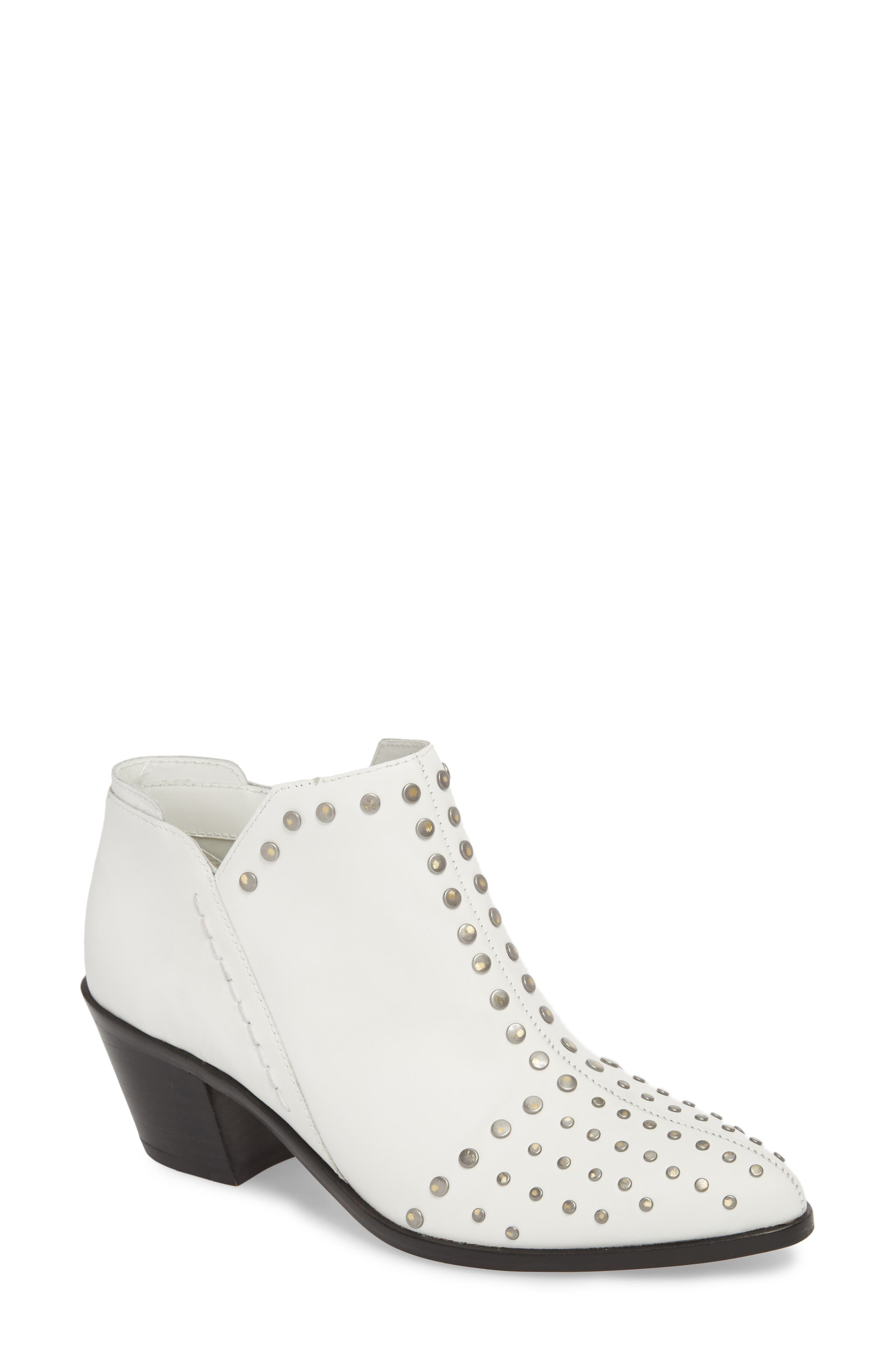 1.state Loka Studded Bootie, White