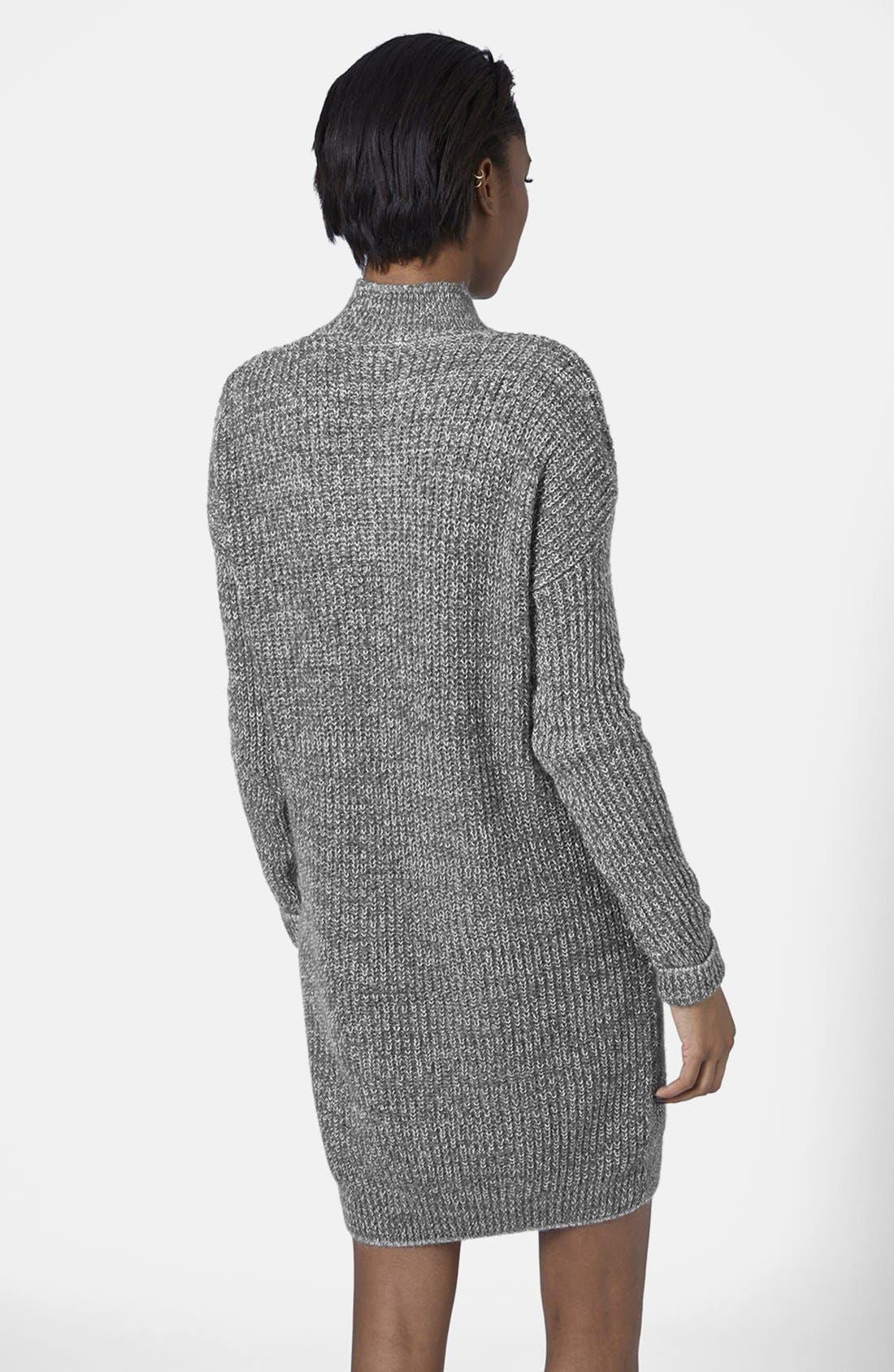 Sweater Dress,                             Alternate thumbnail 4, color,                             020