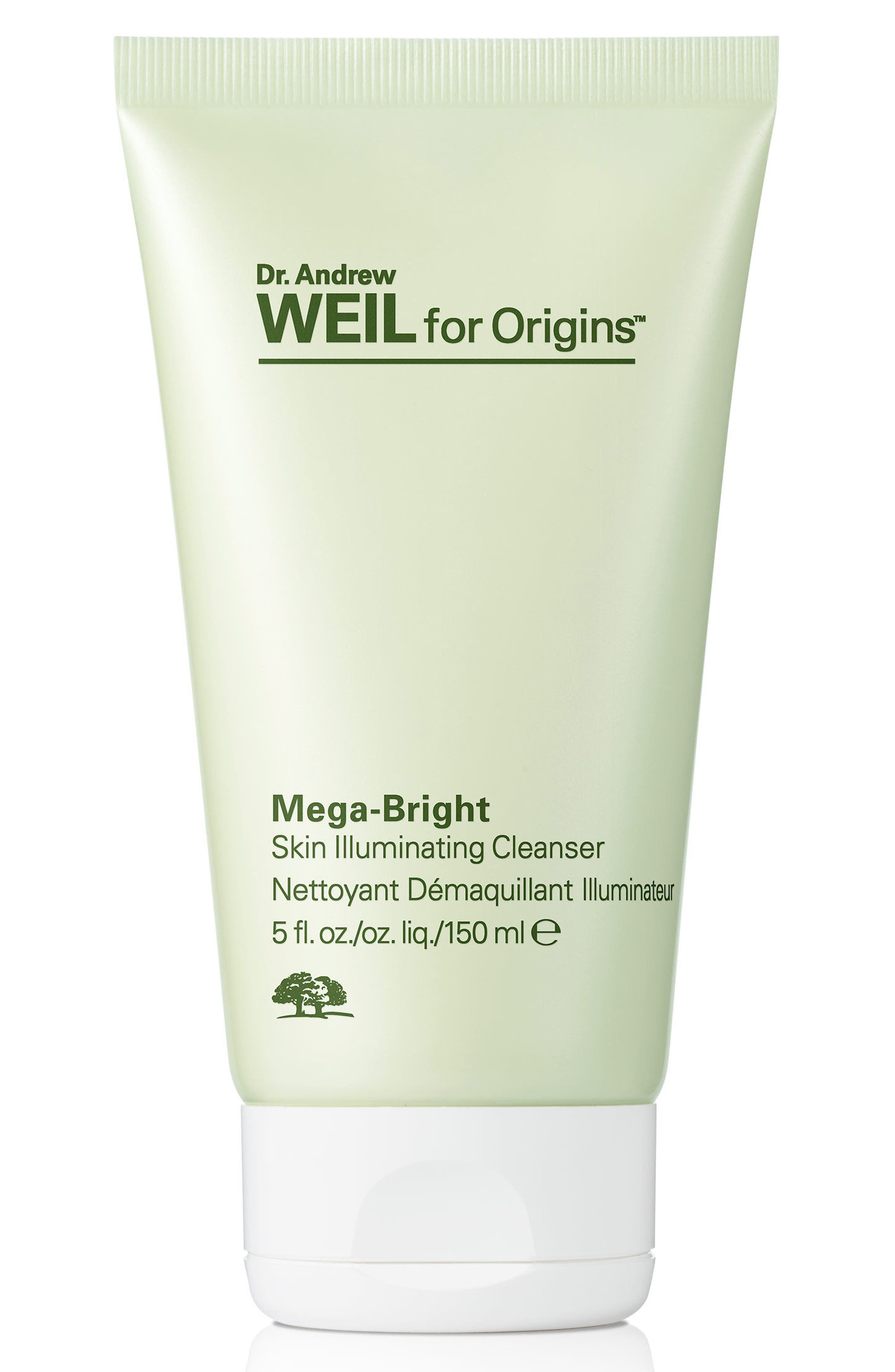 Dr. Andrew Weil for Origins<sup>™</sup> Mega-Bright Skin Illuminating Cleanser,                             Main thumbnail 1, color,                             NO COLOR