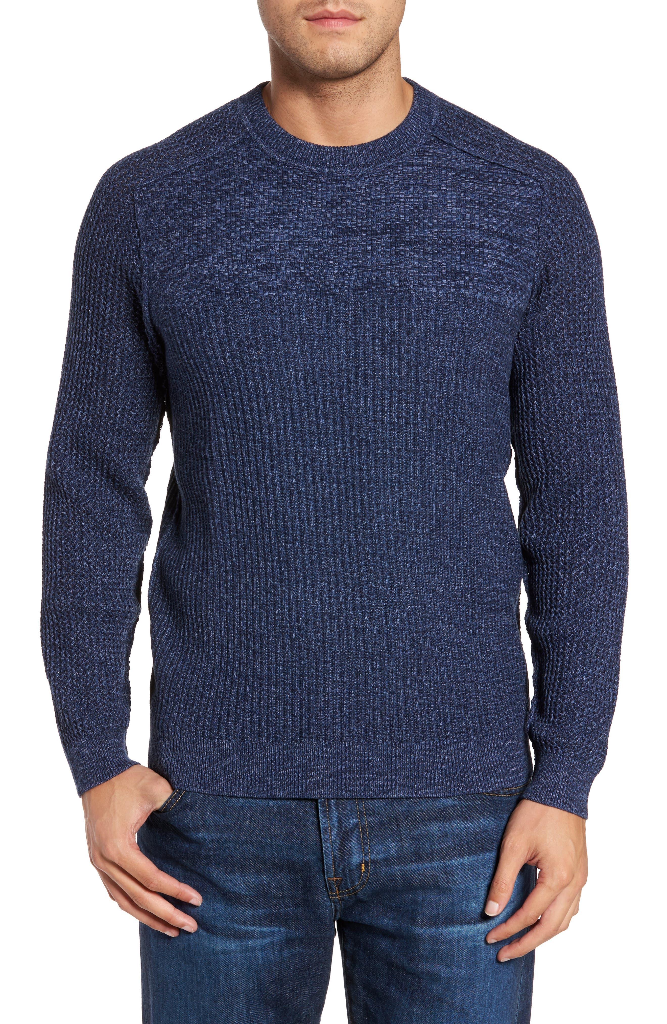 Medina Marl Cotton Sweater,                         Main,                         color, 001