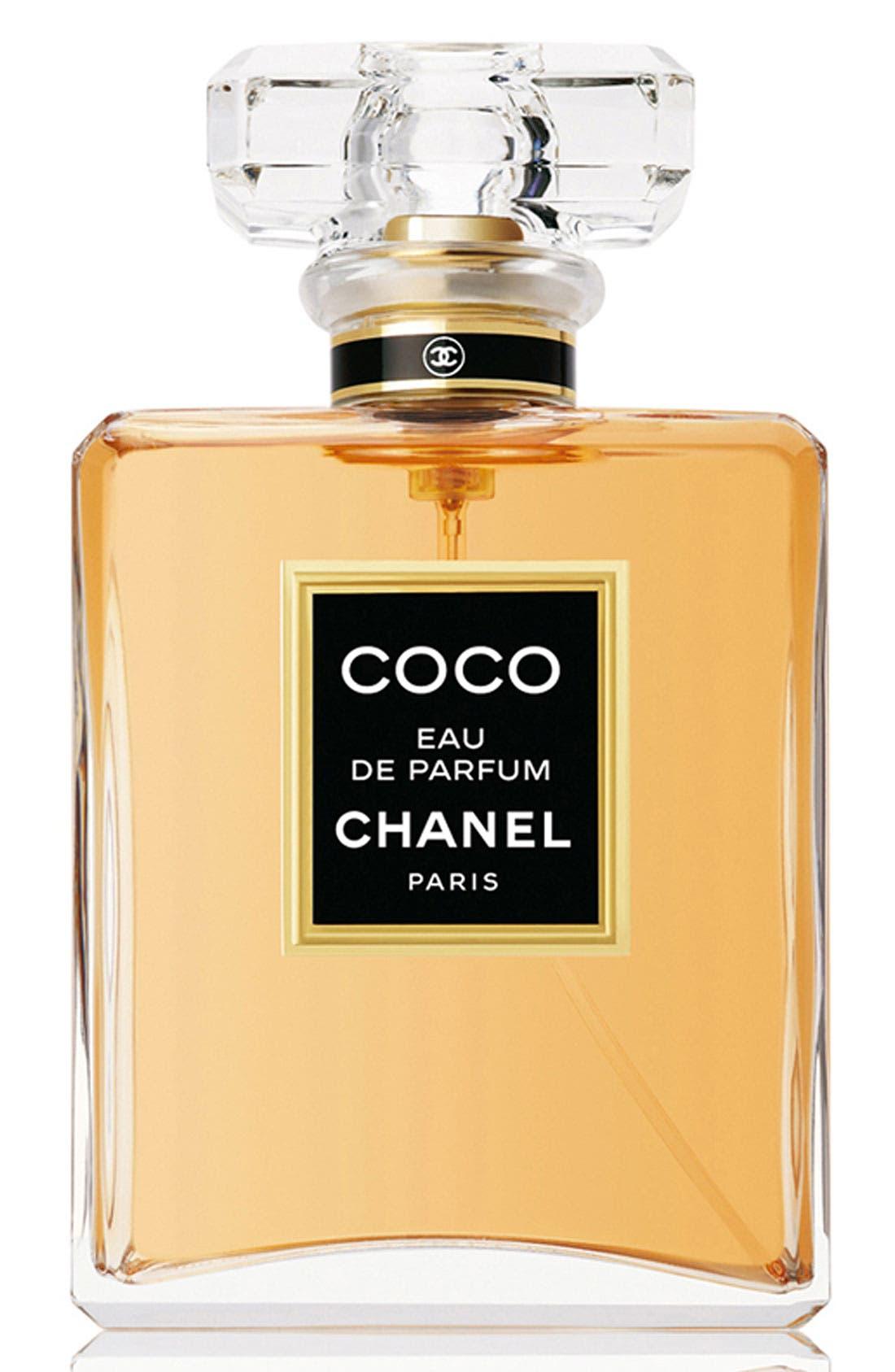 CHANEL,                             COCO<br />Eau de Parfum Spray,                             Main thumbnail 1, color,                             NO COLOR