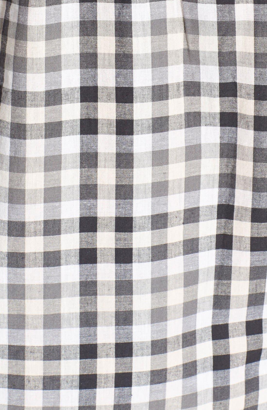 'Cartel' Check Cotton Shirt,                             Alternate thumbnail 5, color,